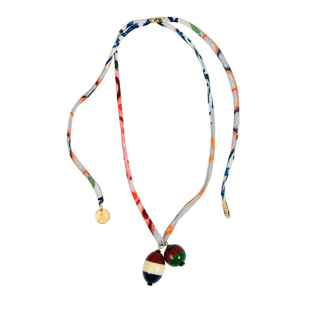 Barton Necklace Red