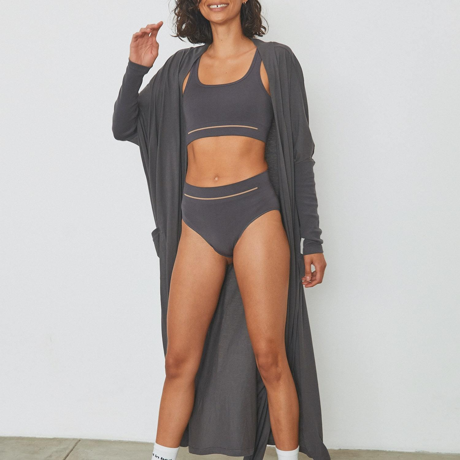 Soft Supportive Seamless Modal Brief 0