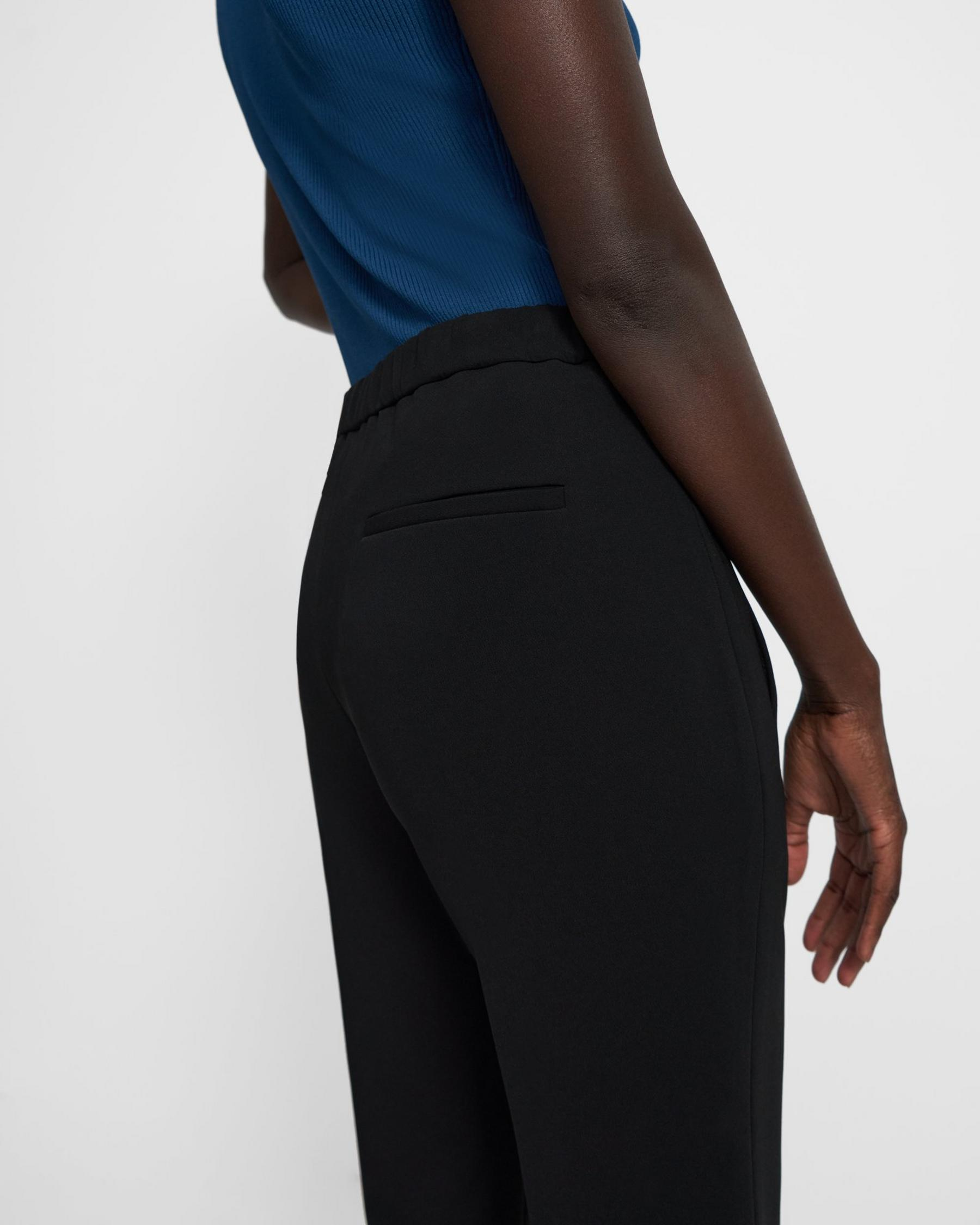 Demitria Pull-On Pant in Crepe 1