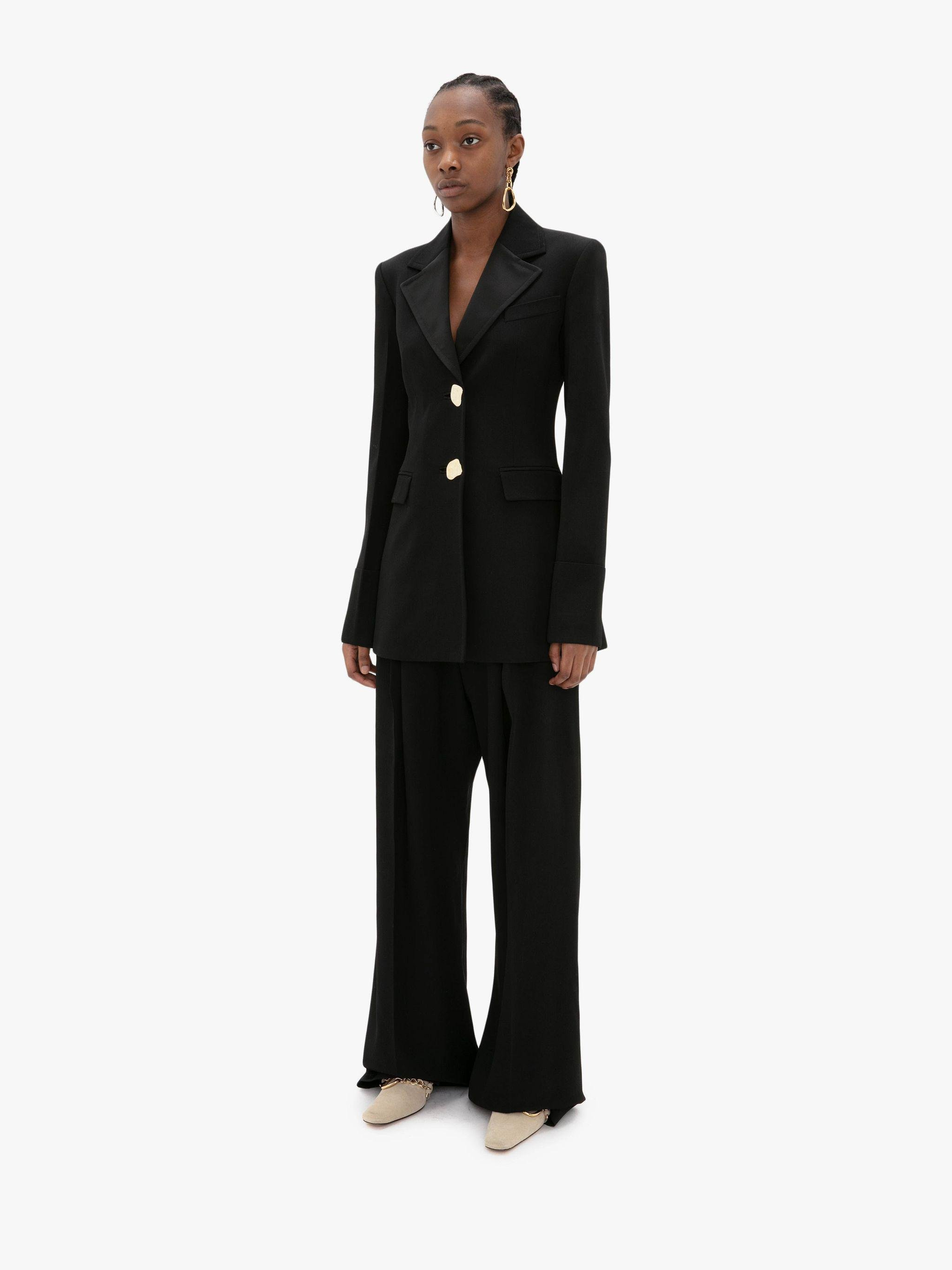 TAILORED FOLD-OVER CUFF JACKET 1