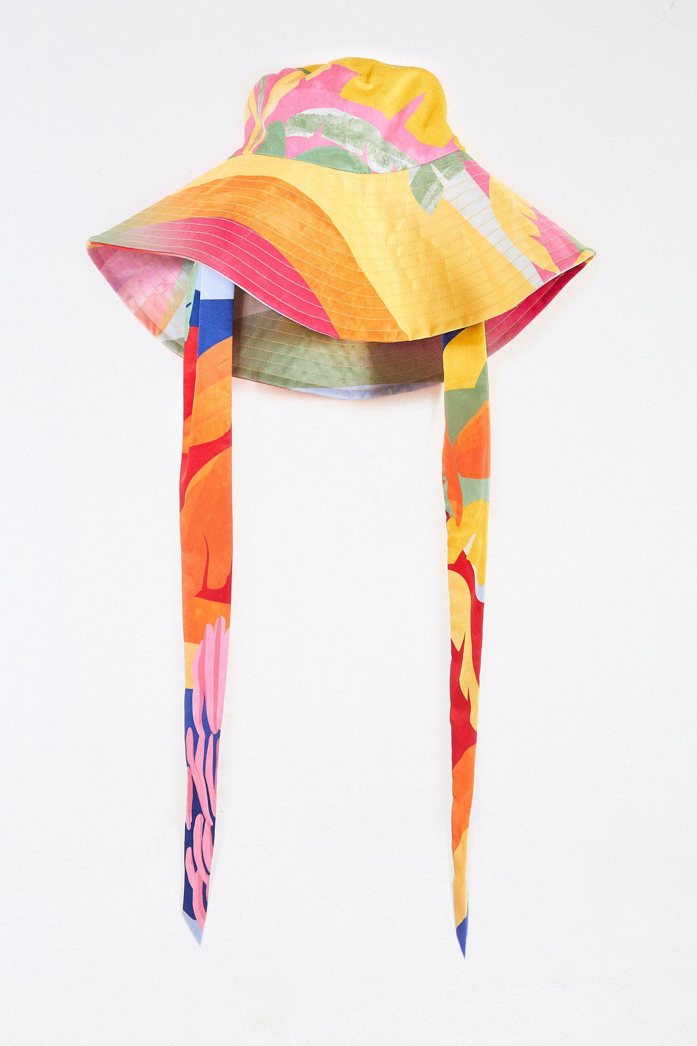 TROPICAL SUNSET HAT