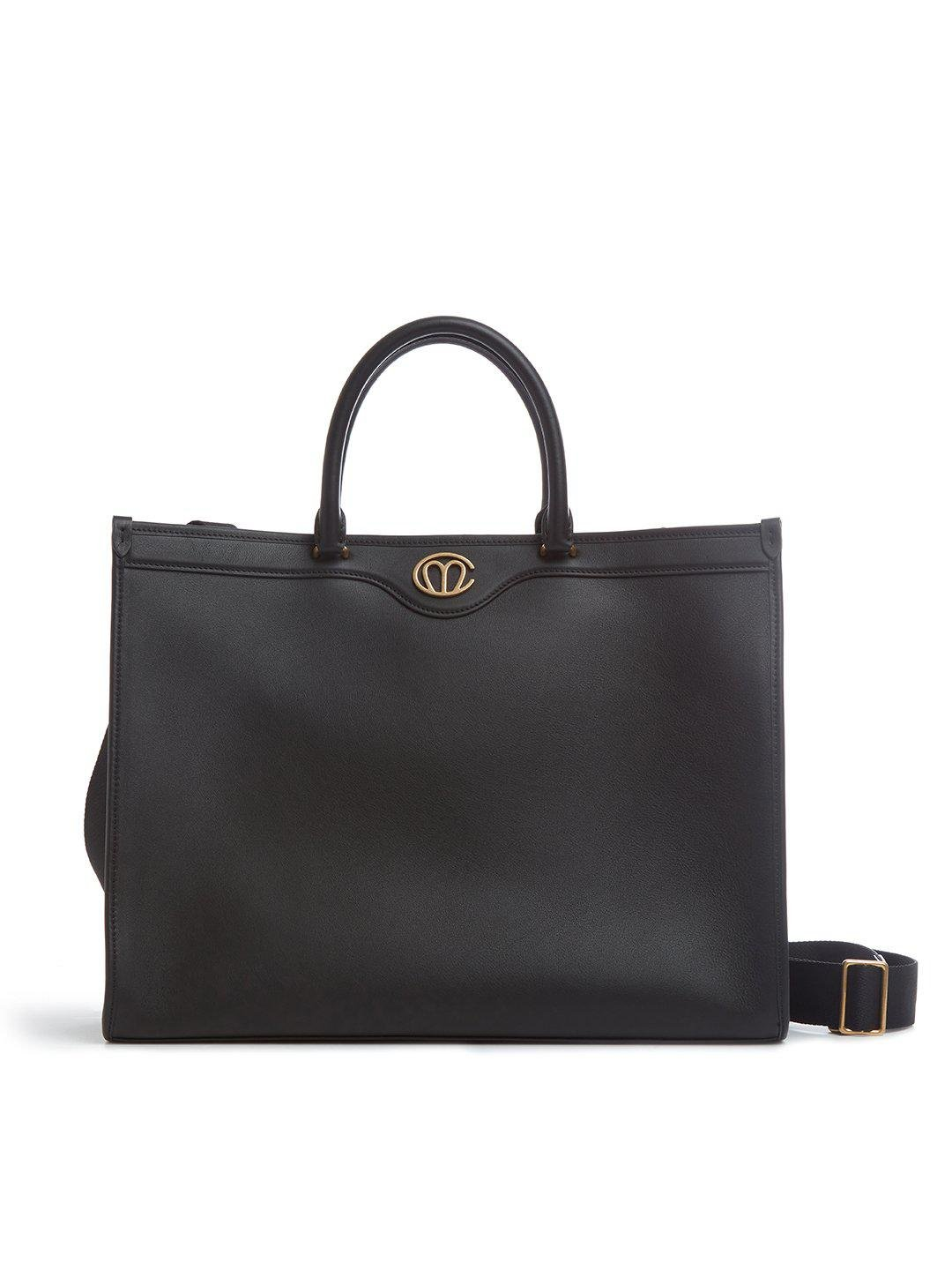 Christy East West Leather Tote Bag