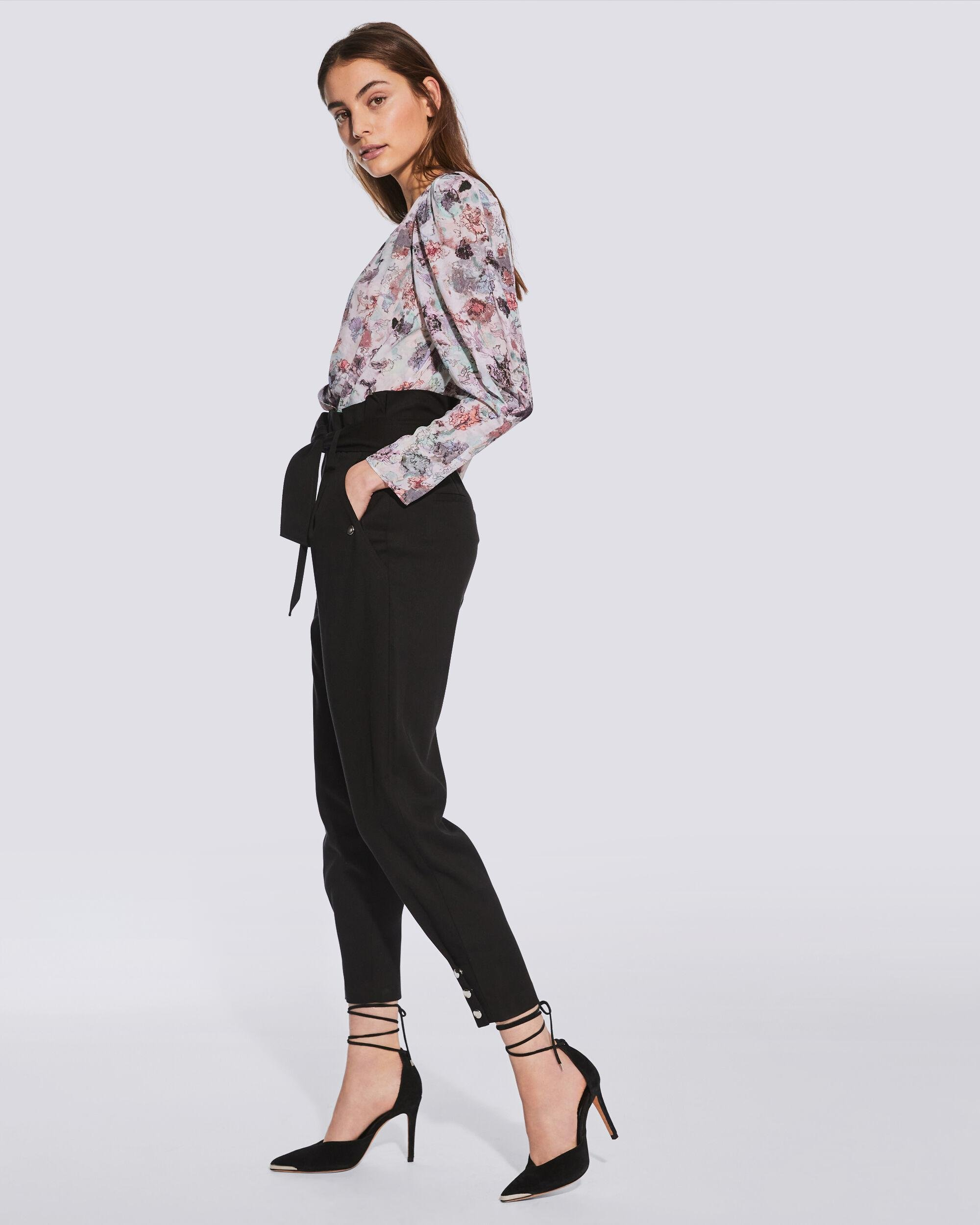 BORCIE PAPERBAG WAIST TROUSERS 2