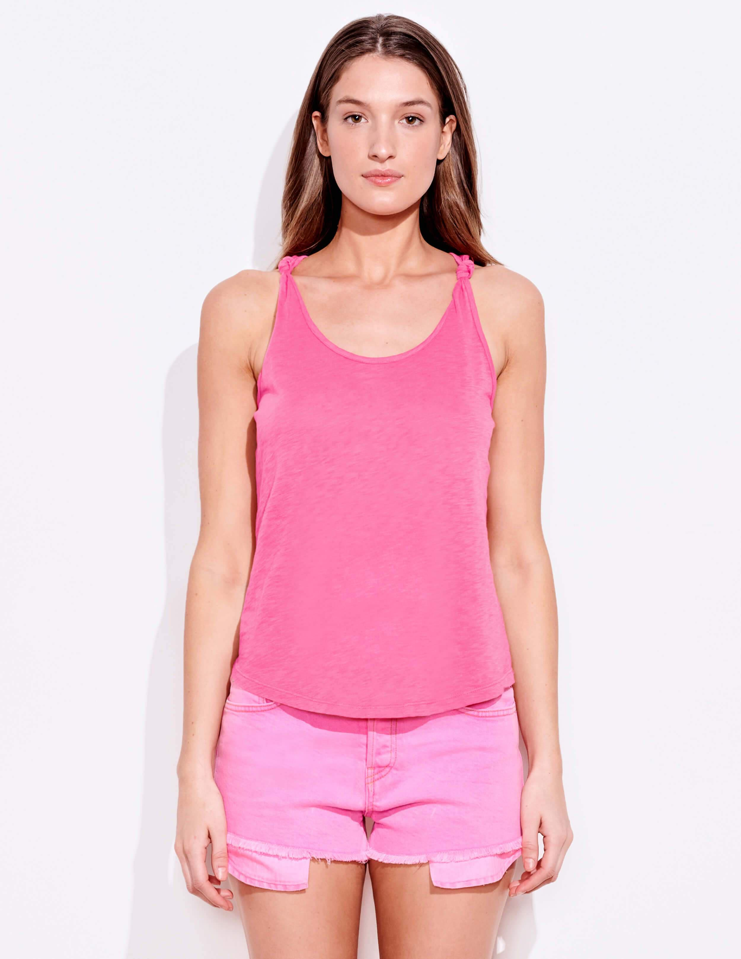 Knotted Straps Tank