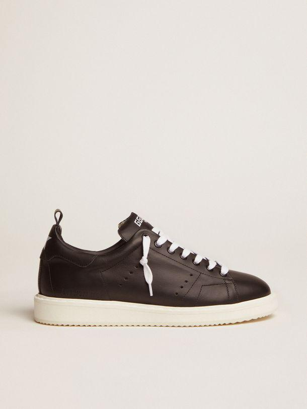 Starter sneakers in total black leather