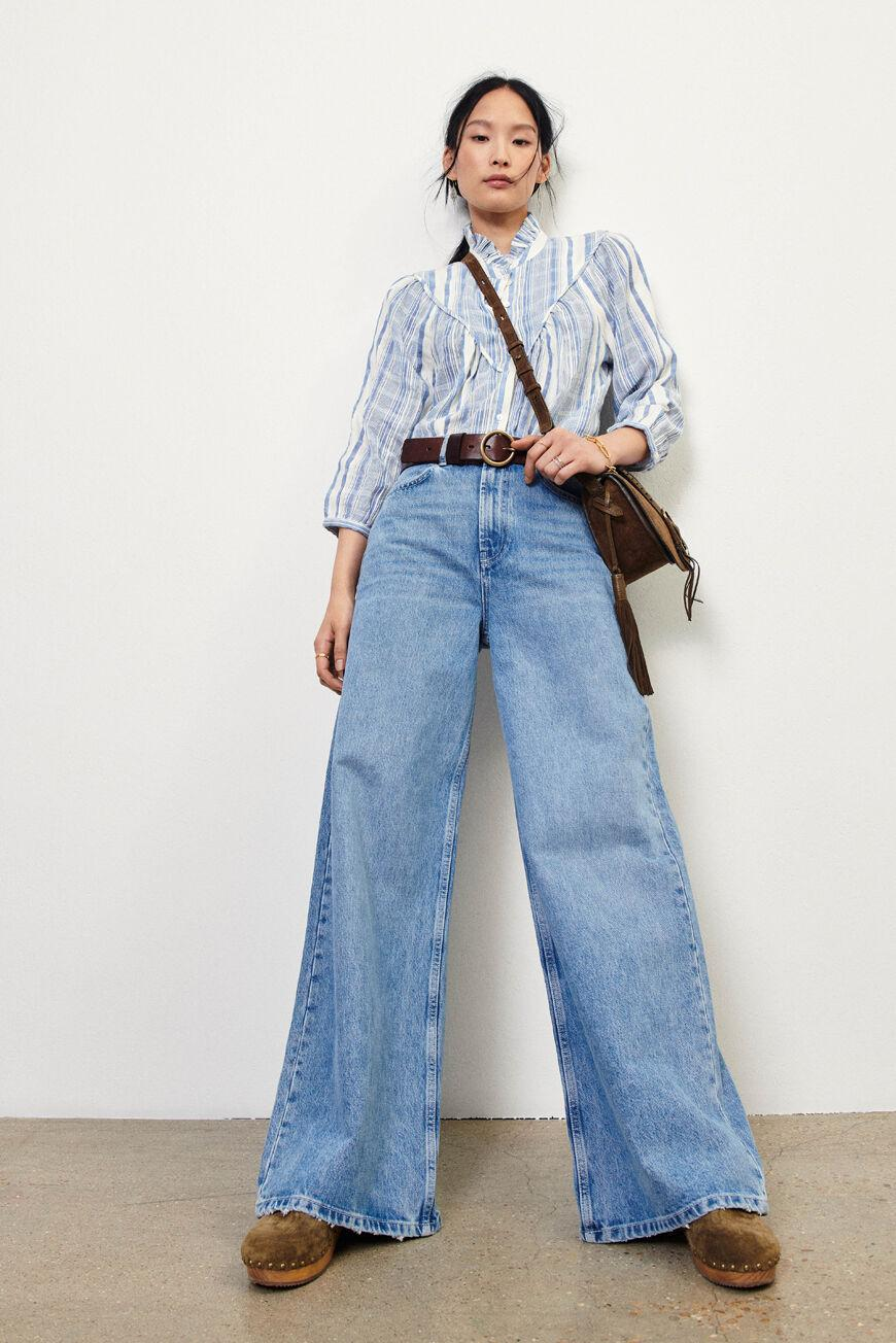 soul.FLARED JEANS