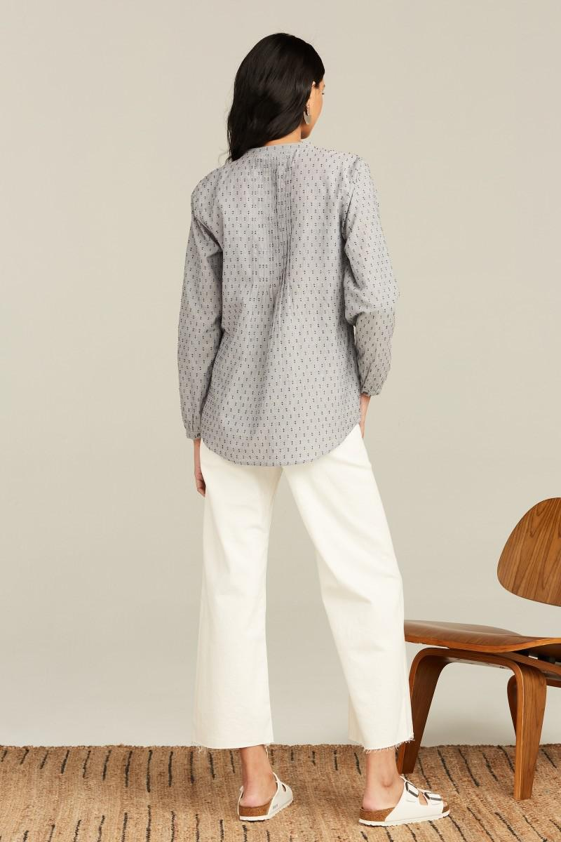 CHAMBRAY FIL COUPE WEI TOP 3