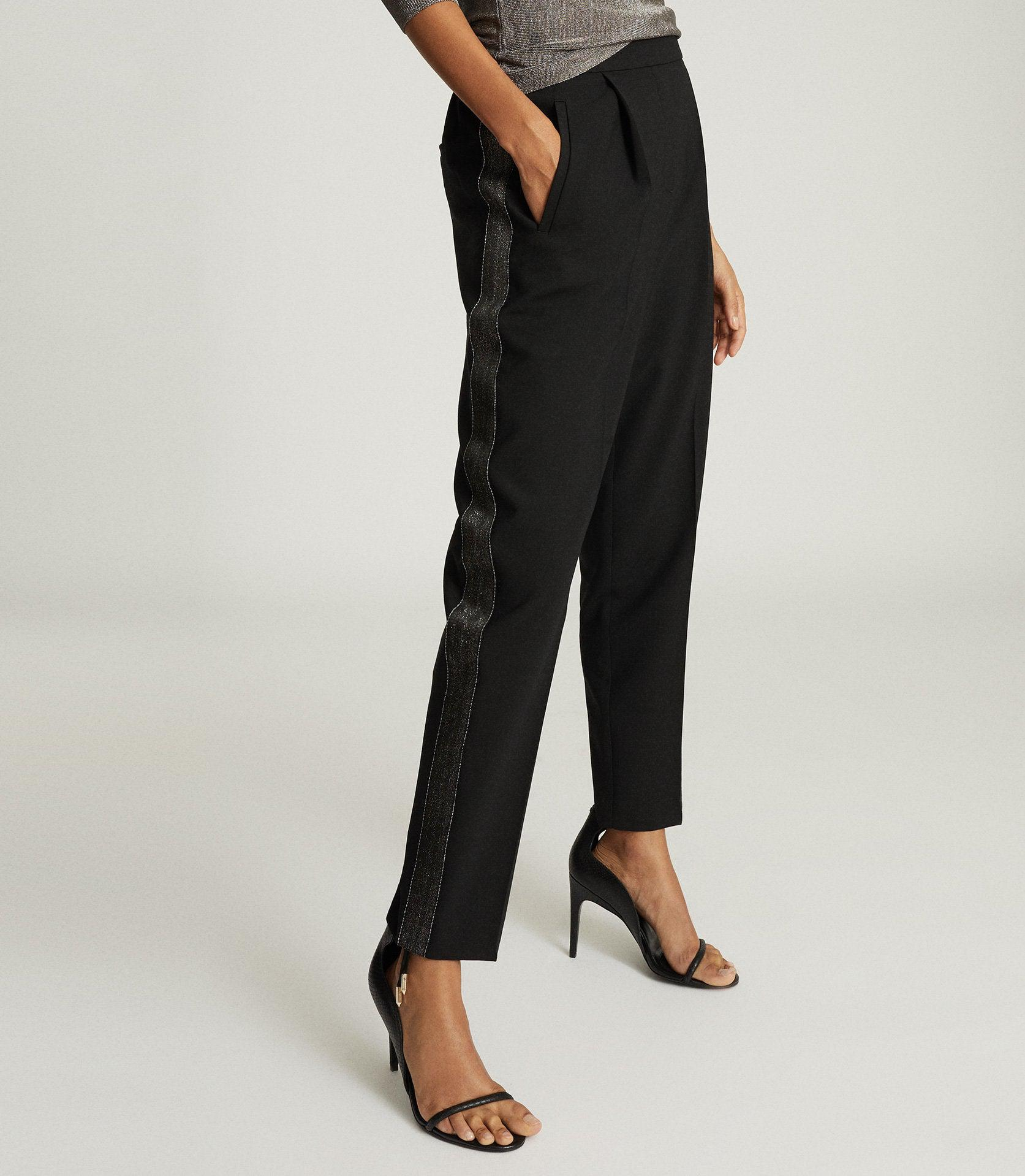 JAY - PLEAT FRONT TAILORED TROUSERS 1