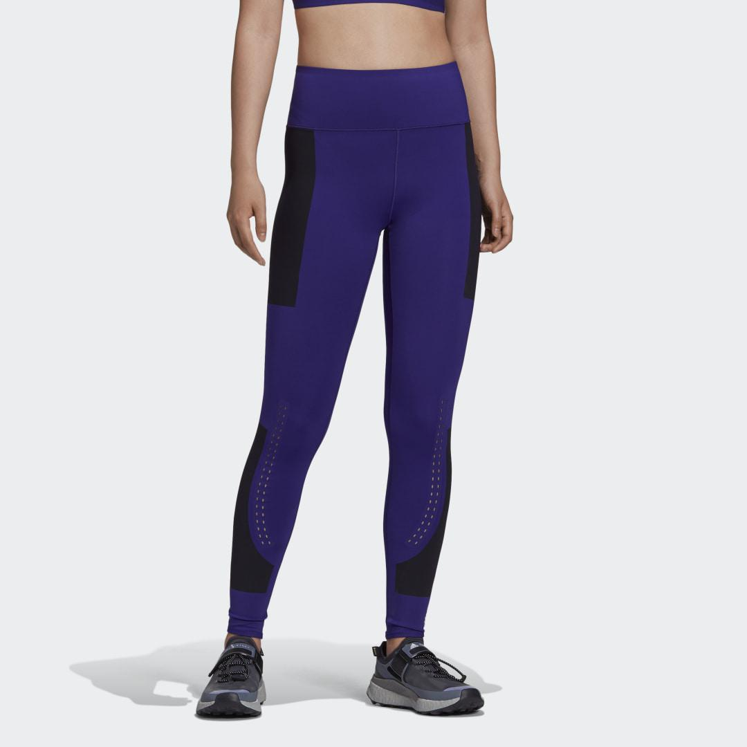 by Stella McCartney Support Core Tights Purple S - Womens Training Pants