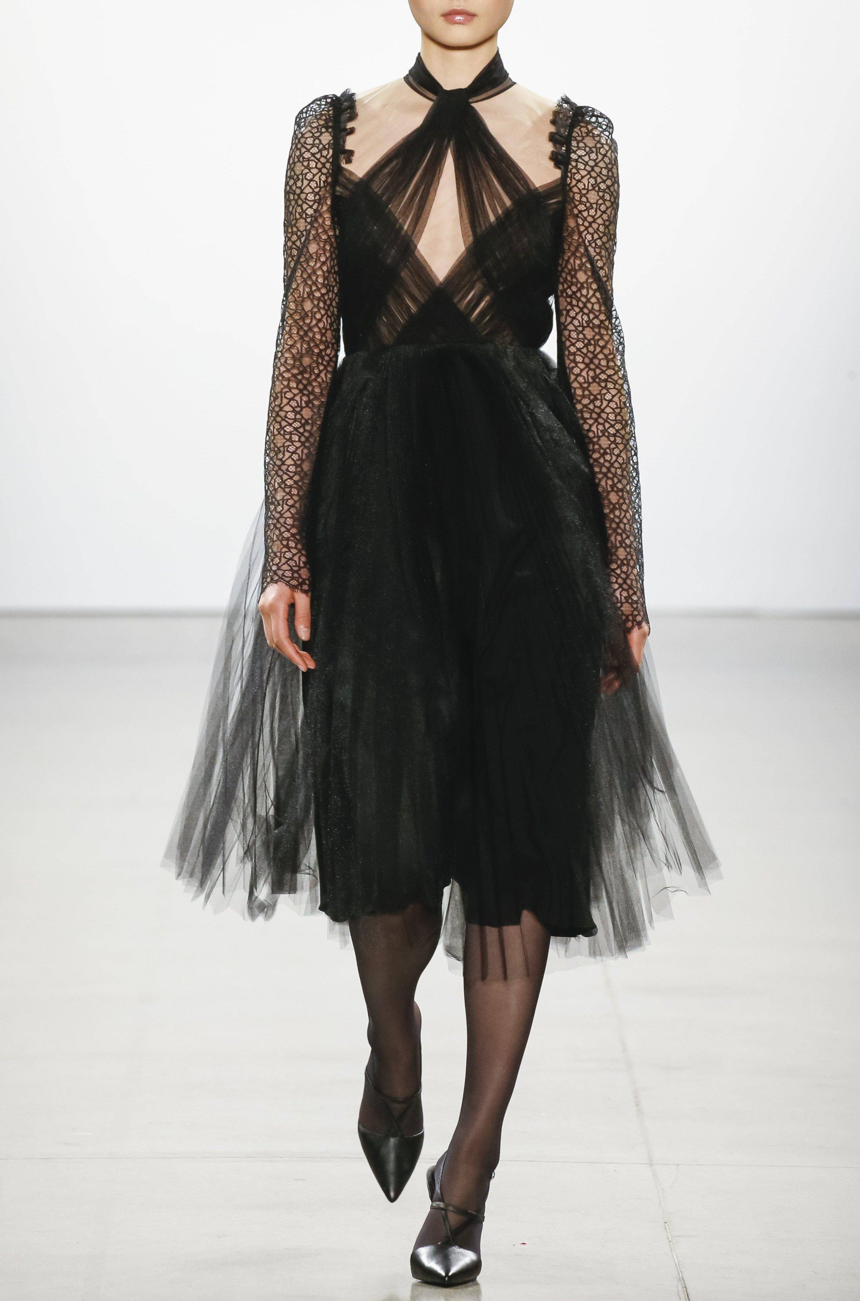 TULLE COCKTAIL DRESS