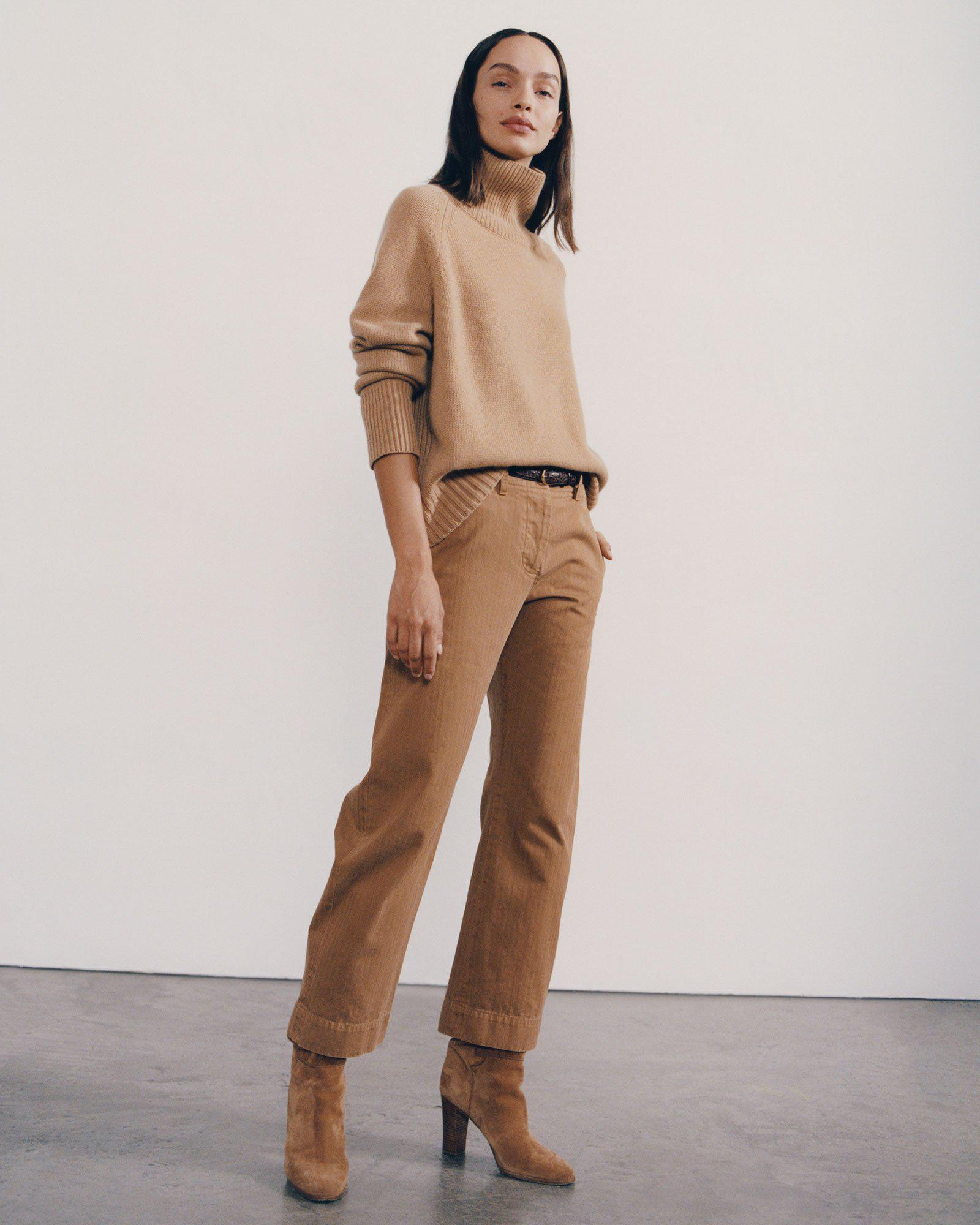 TOMBOY PANT WITH CUFF