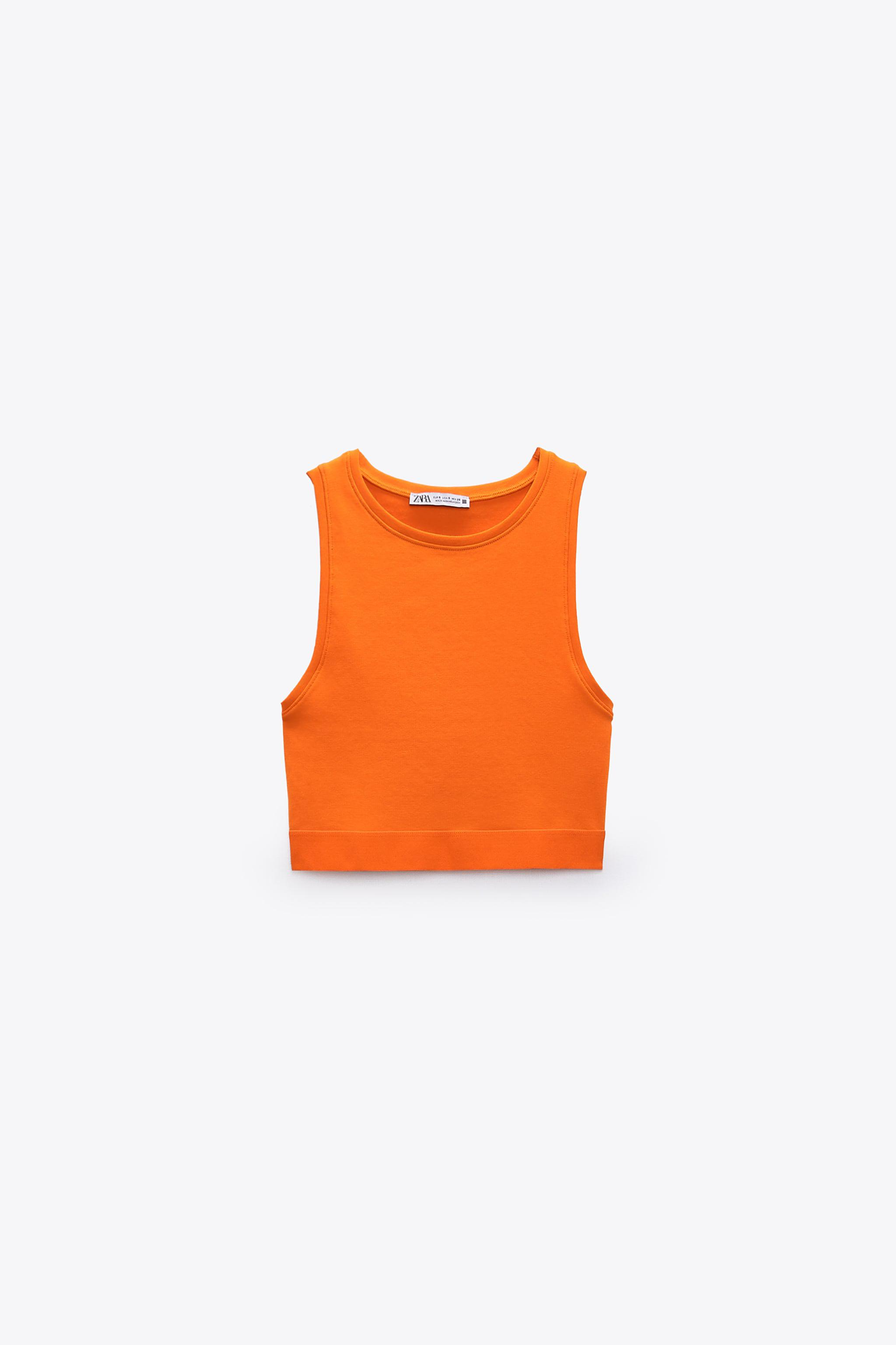 HIGH NECK CROPPED TOP 4