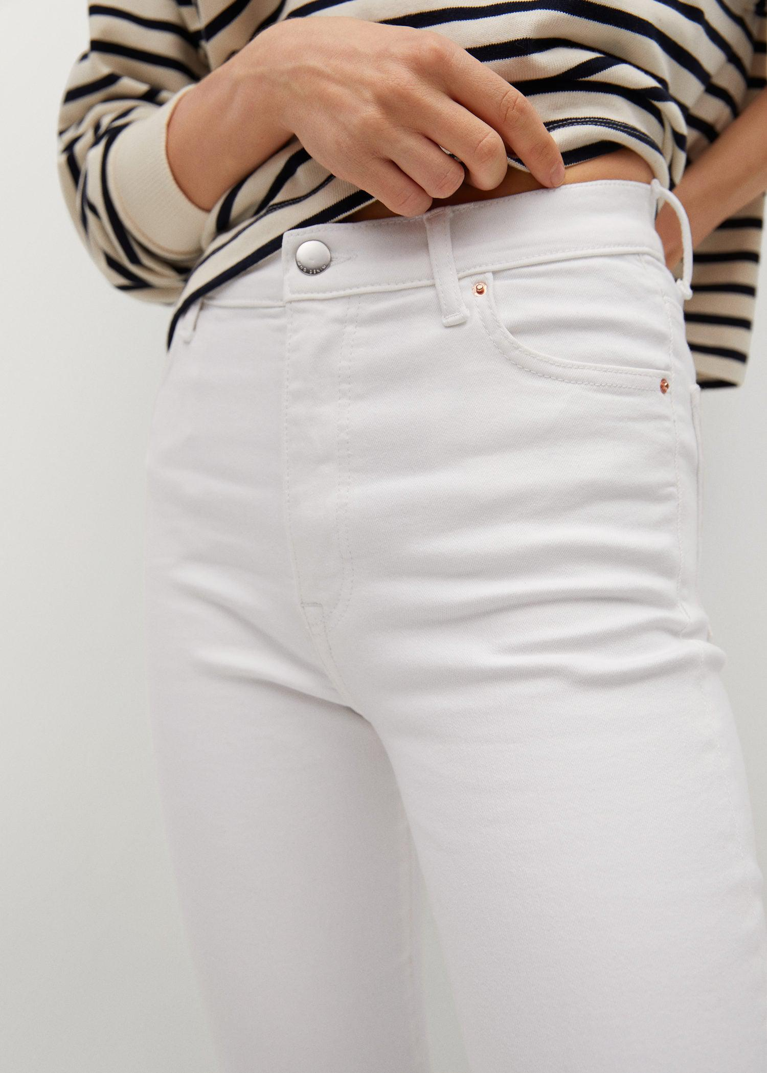 Crop flared jeans 5