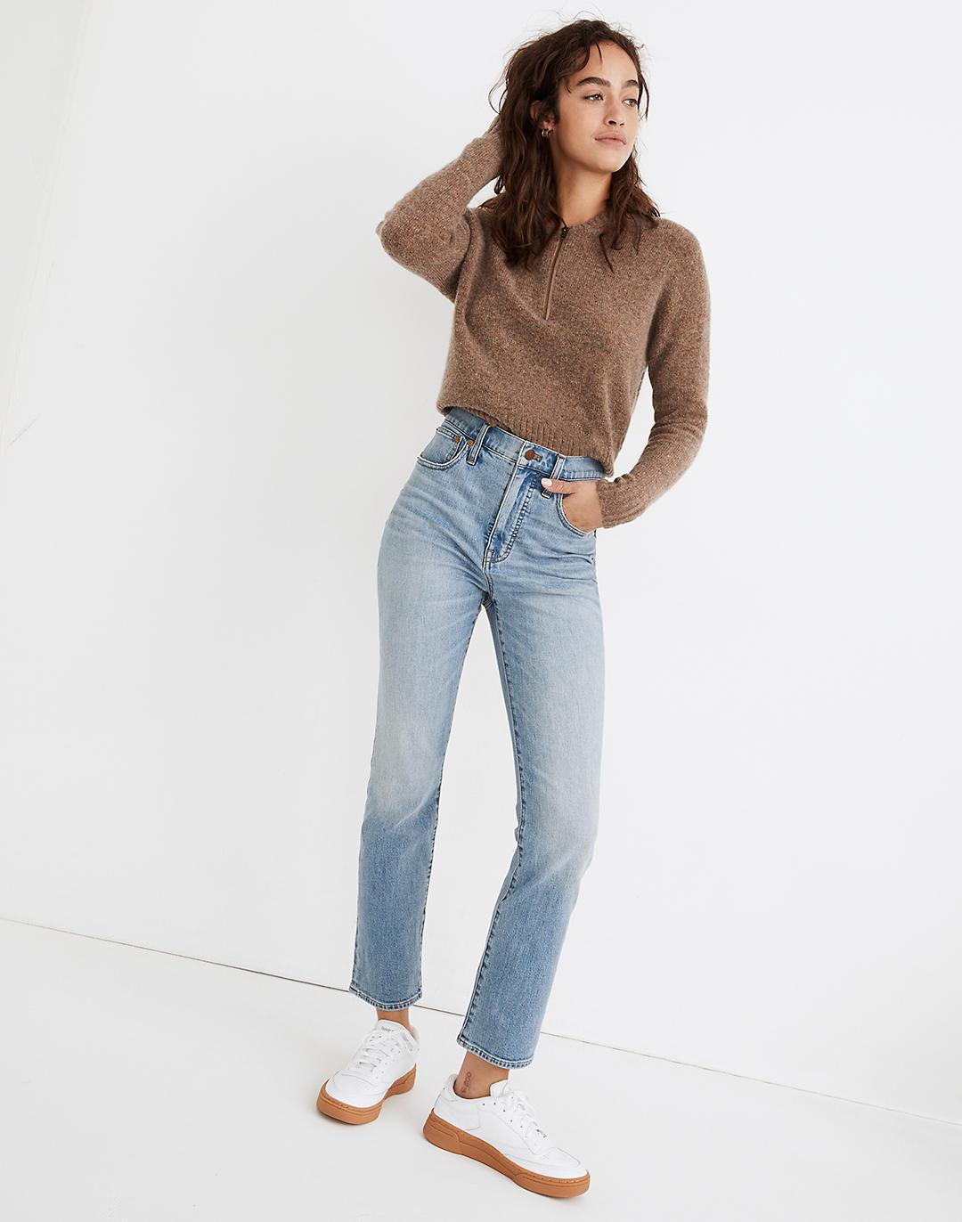 Tall Slim Demi-Boot Jeans in Denis Wash