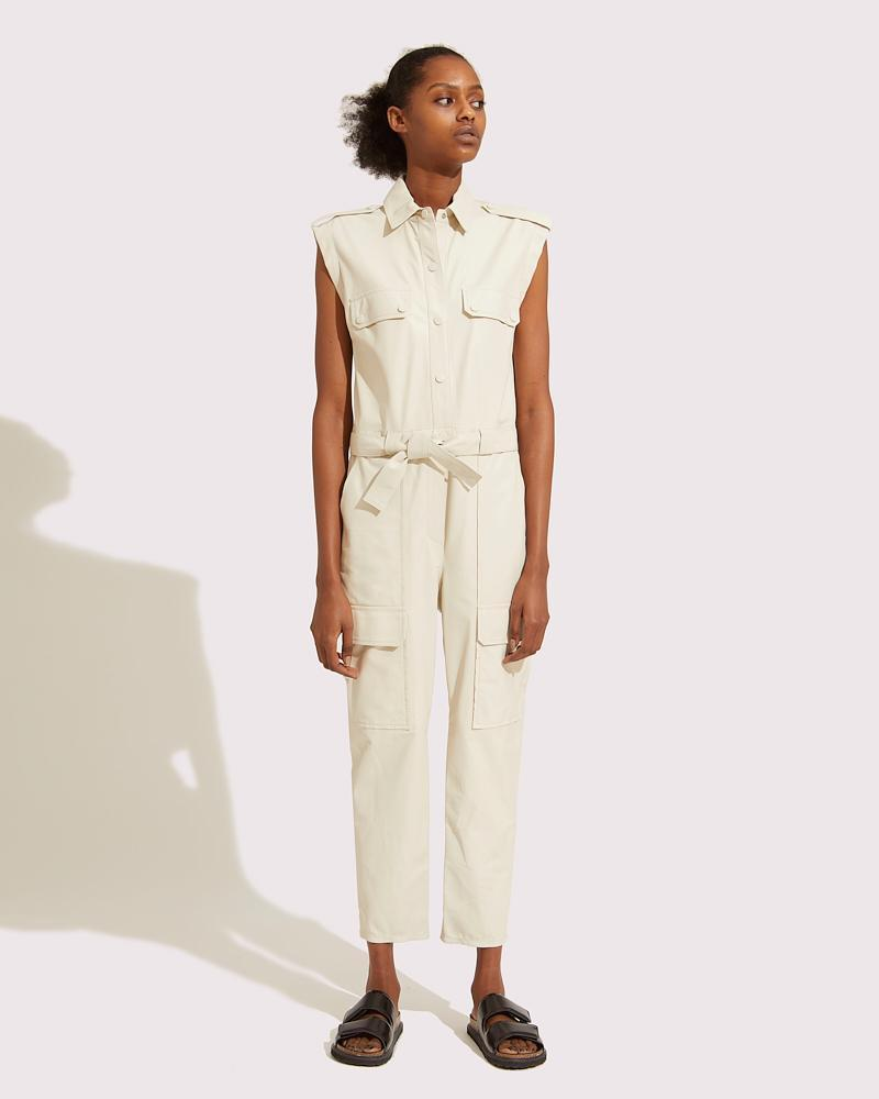 Belted multipockets overall 2