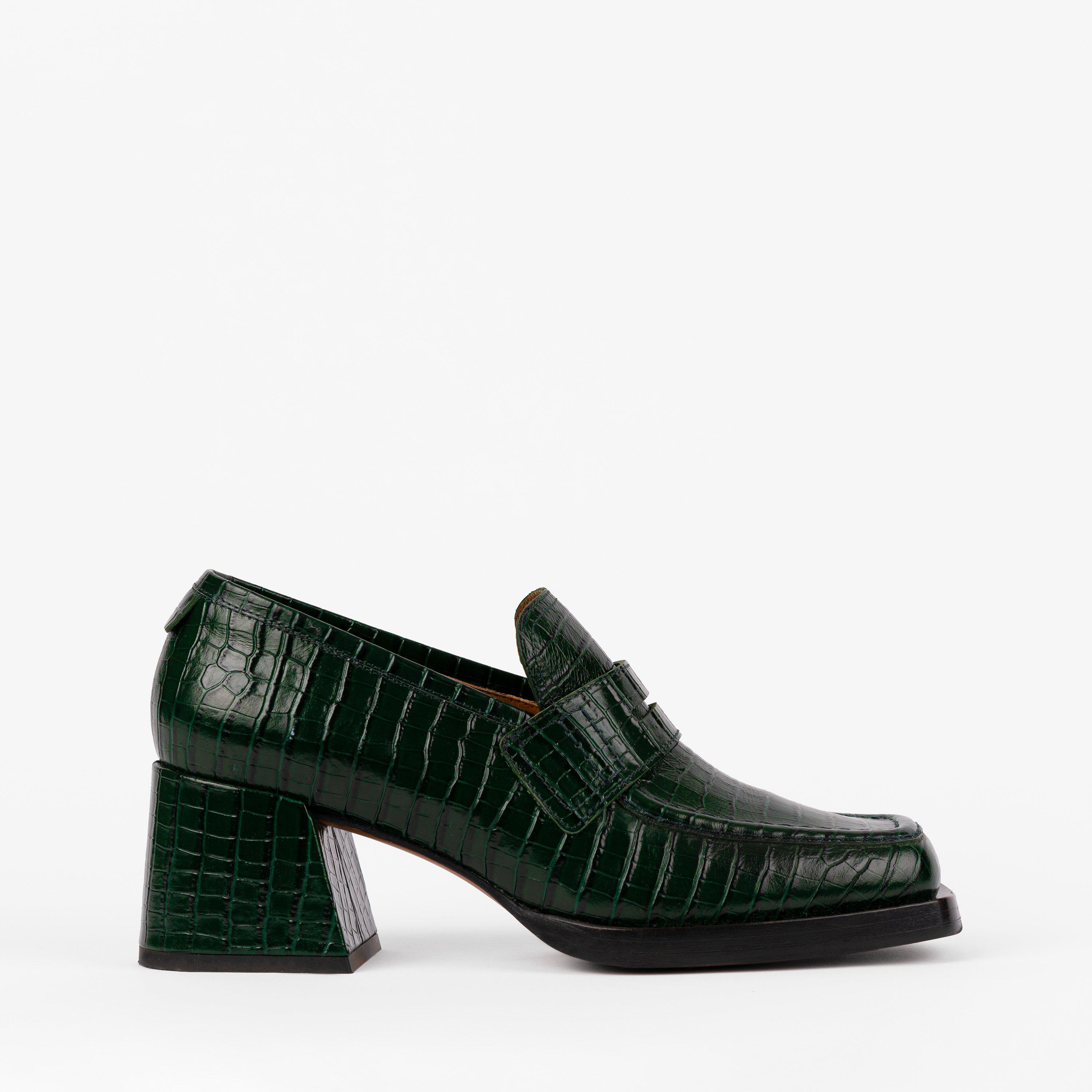 Kitty Loafer Emerald