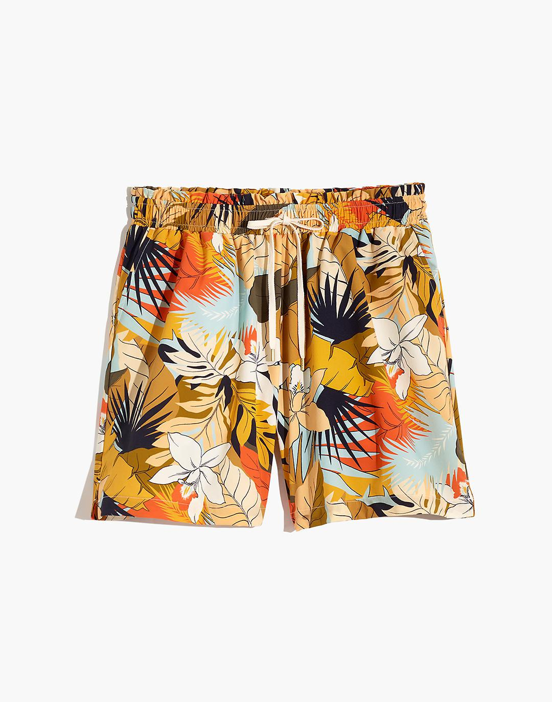 Madewell Second Wave Board Shorts in Tropical Vacation 4