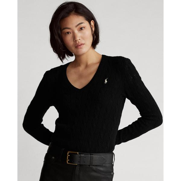 Cable Wool-Cashmere Sweater 3