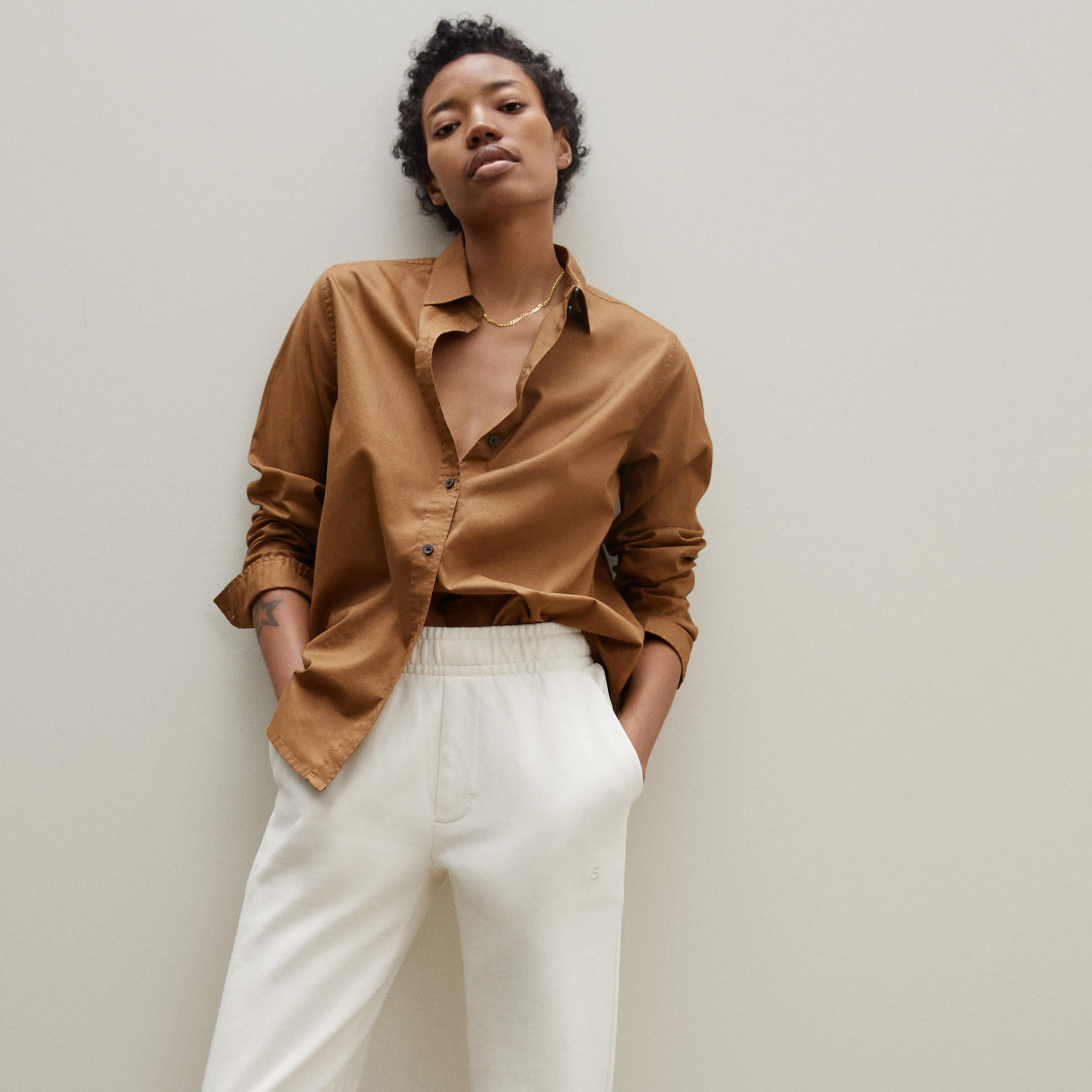 The Silky Cotton Relaxed Shirt