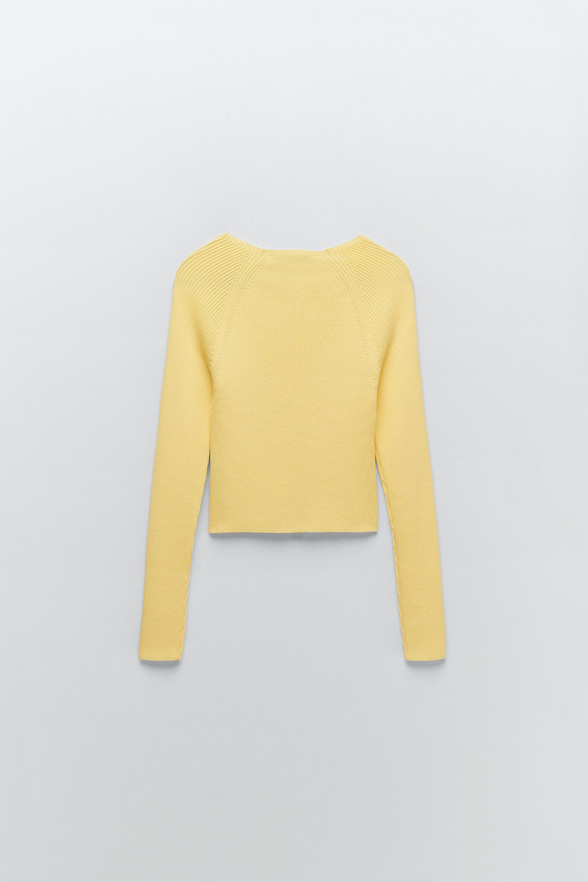 KNIT SWEATER WITH BUTTONS 6