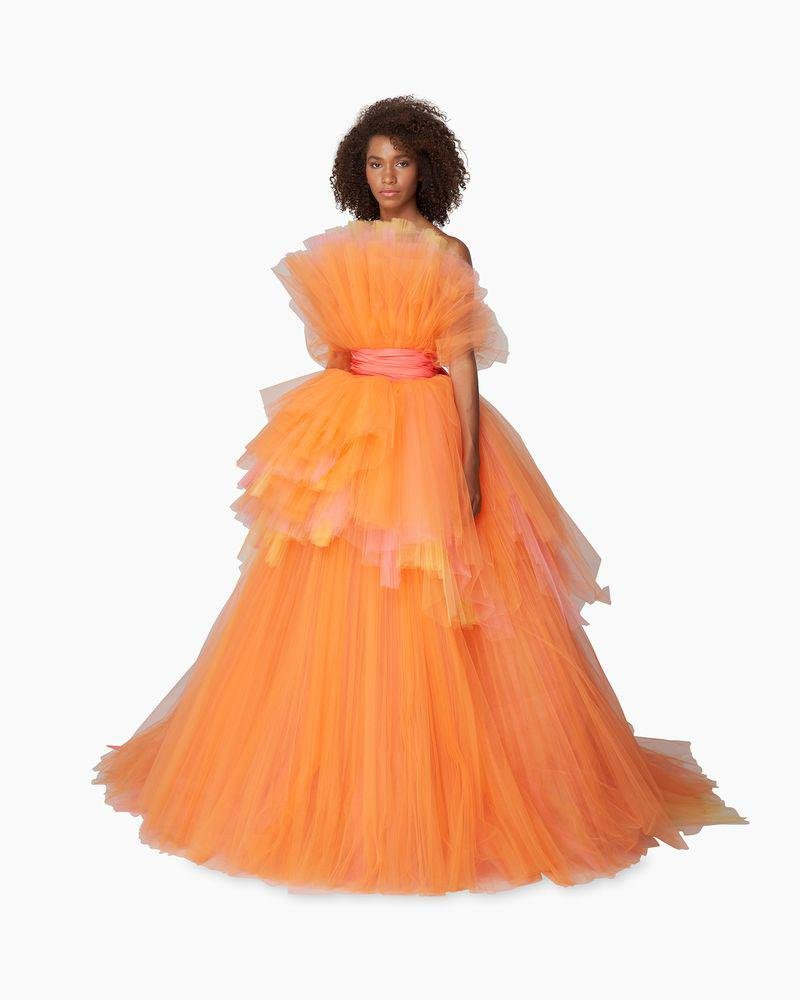 Tulle Sunset Gown