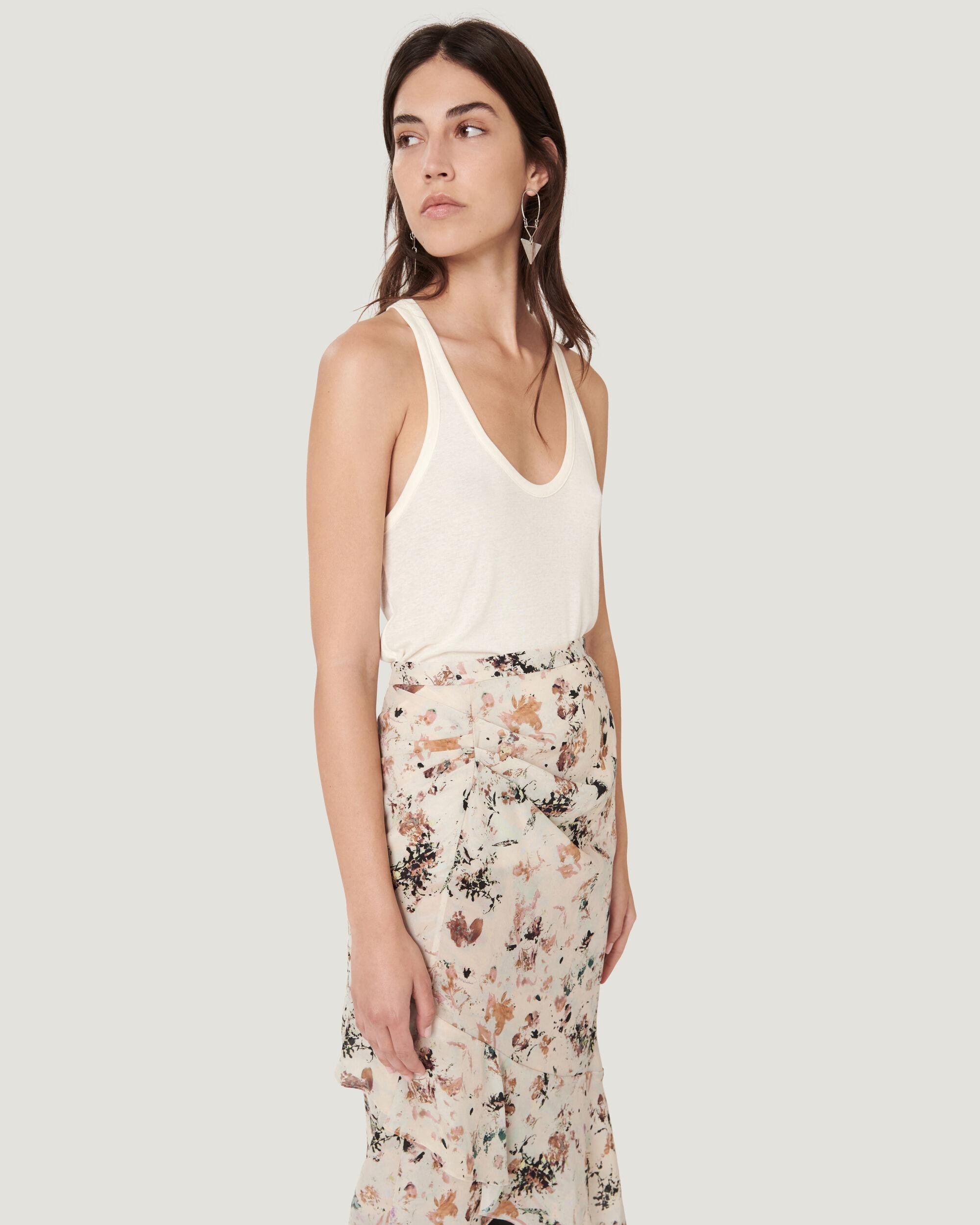 AMELY SCOOP NECK THIN STRAP TANK TOP 3