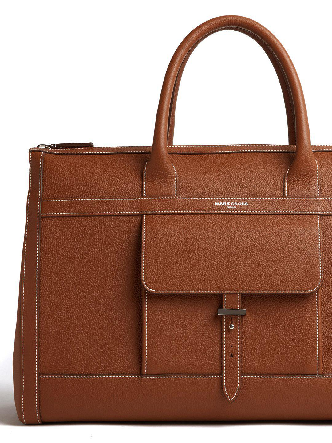 Mick Holdall Leather Duffle Bag 6