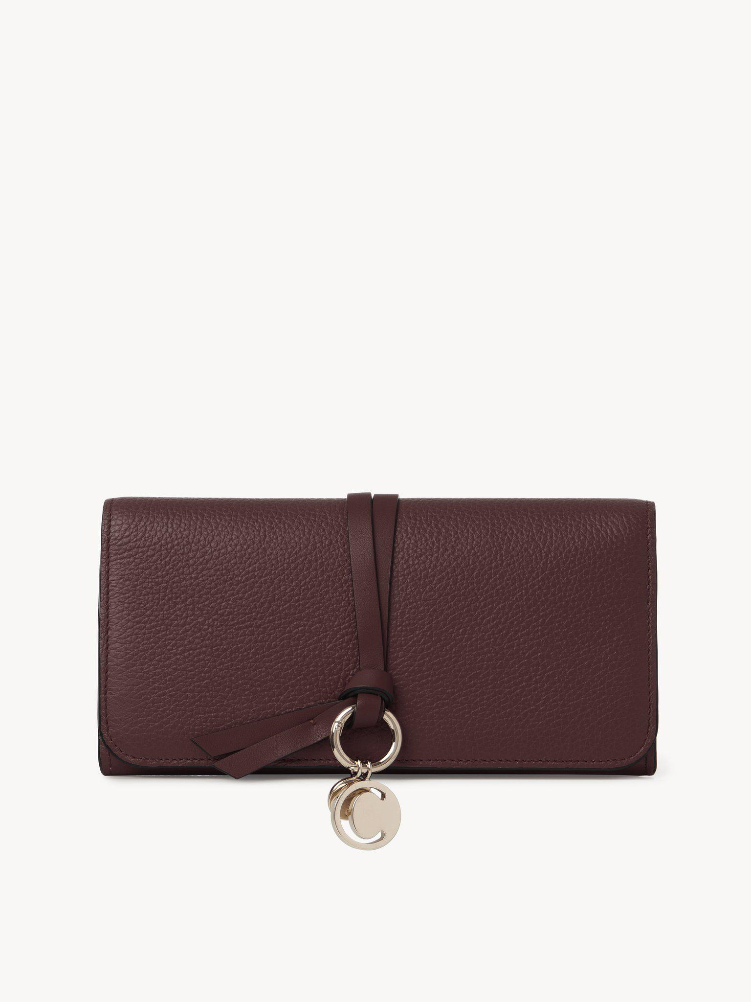 ALPHABET WALLET WITH FLAP