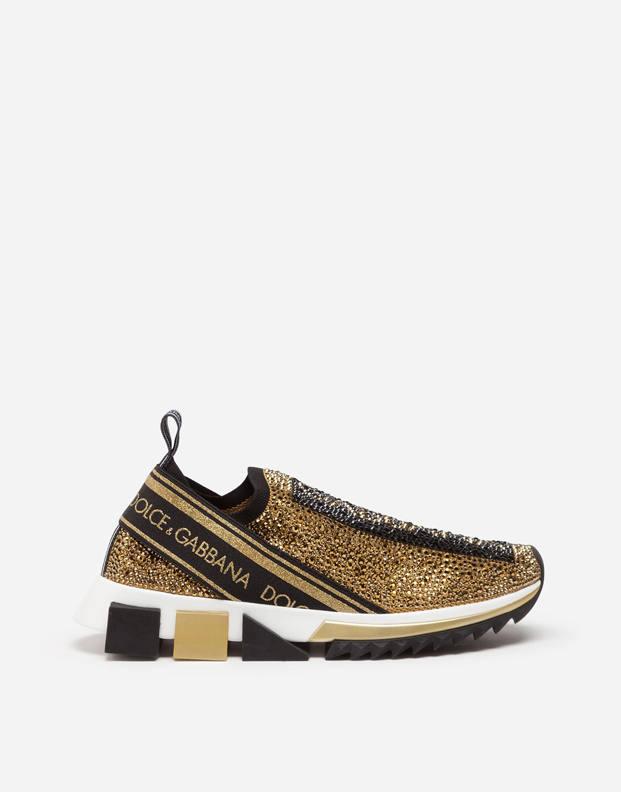 Sorrento sneakers with fusible crystals