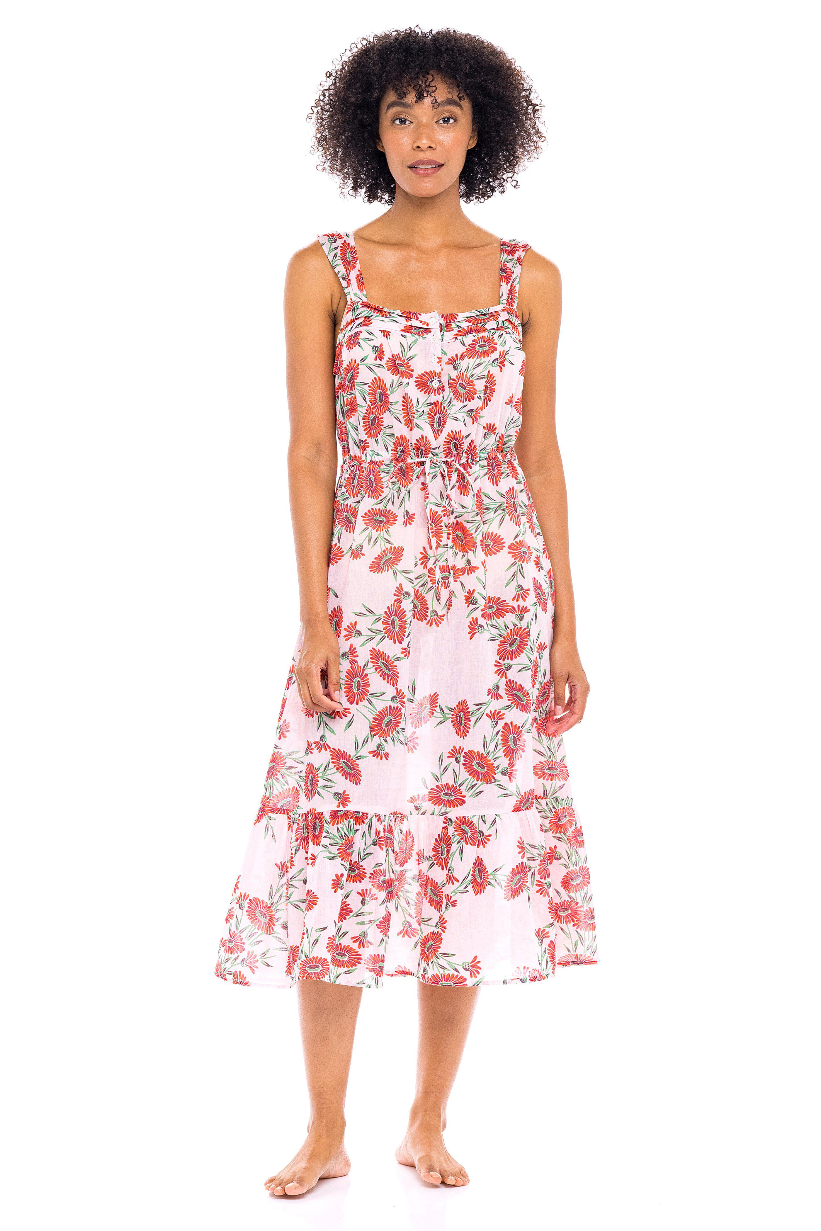Rosalind Gown Dune Daisy White