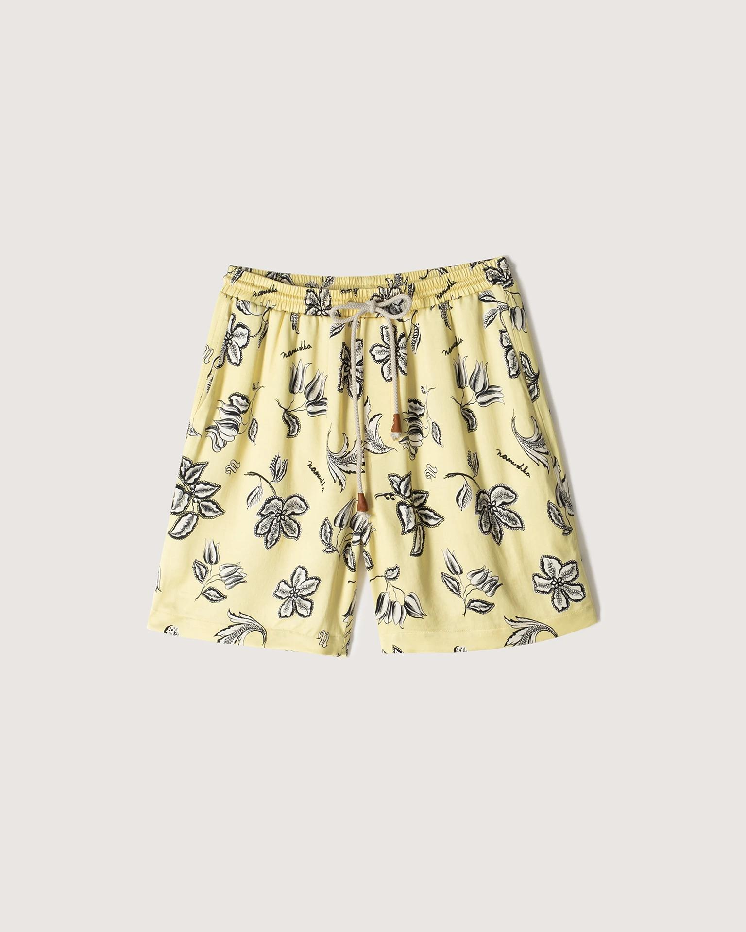 DOXXI - Printed shorts - Trippy Floral