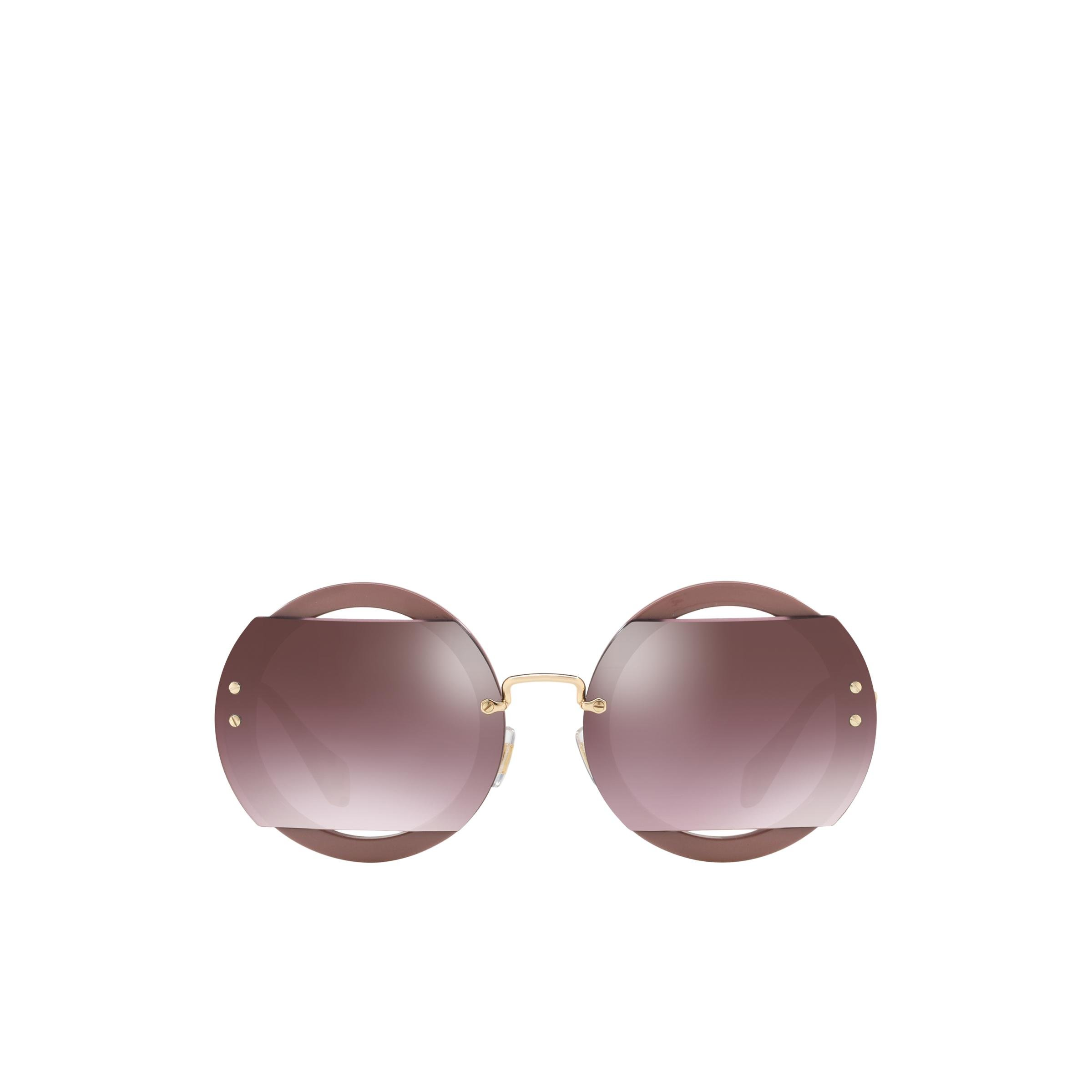 Reveal Eyewear With Glitter Women Mirrored Anthracite To Brown Gradient Lenses