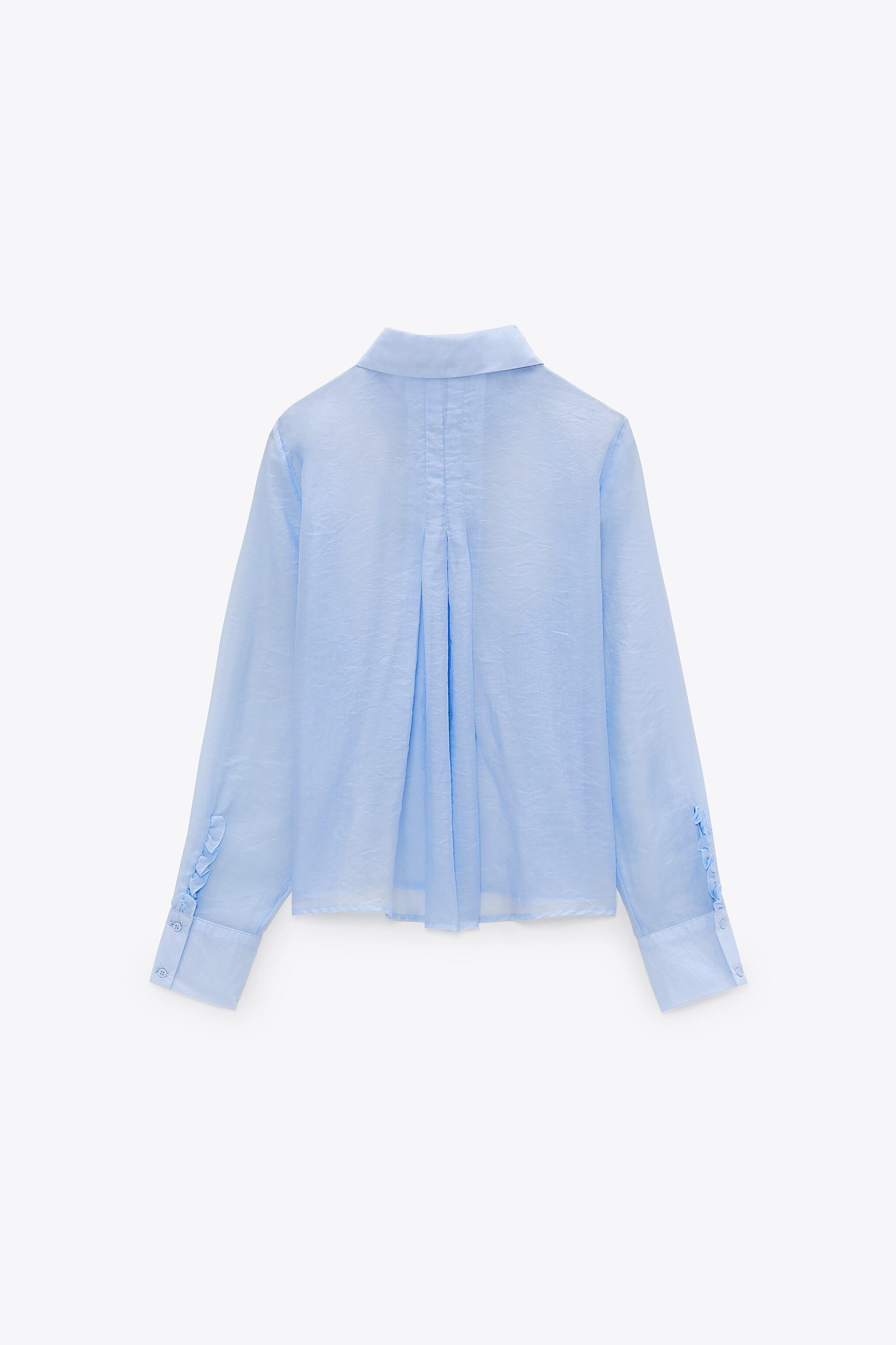 PLEATED BACK TOP 5