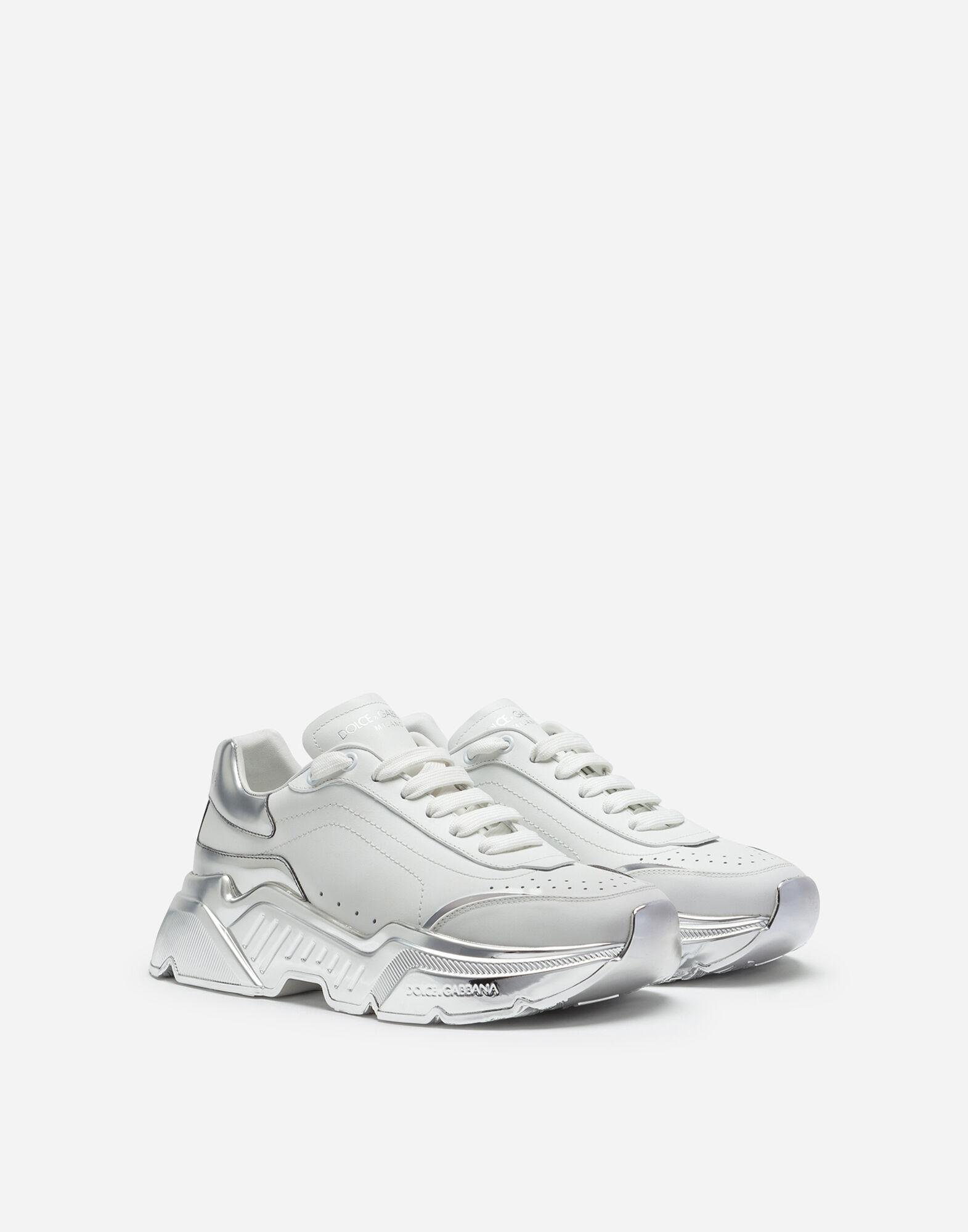 Daymaster sneakers in nappa leather with mirrored bottom 1