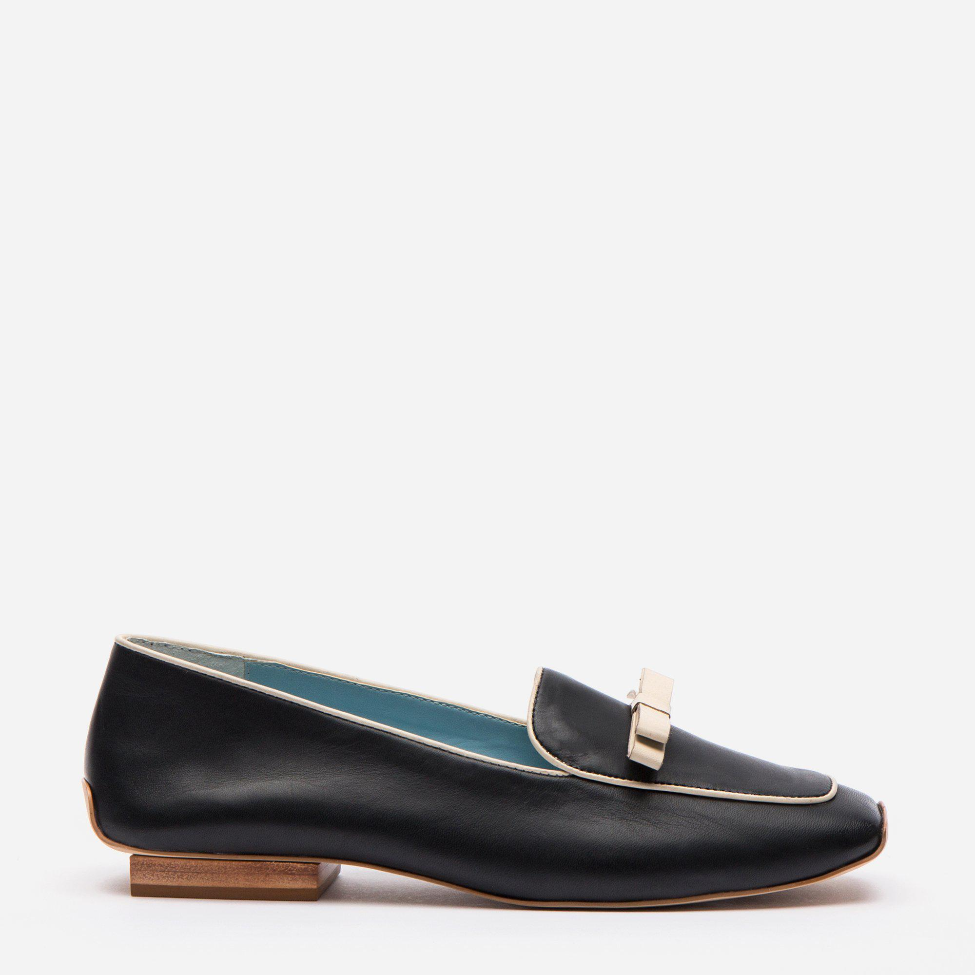 Suzanne Loafer Leather Black Oyster