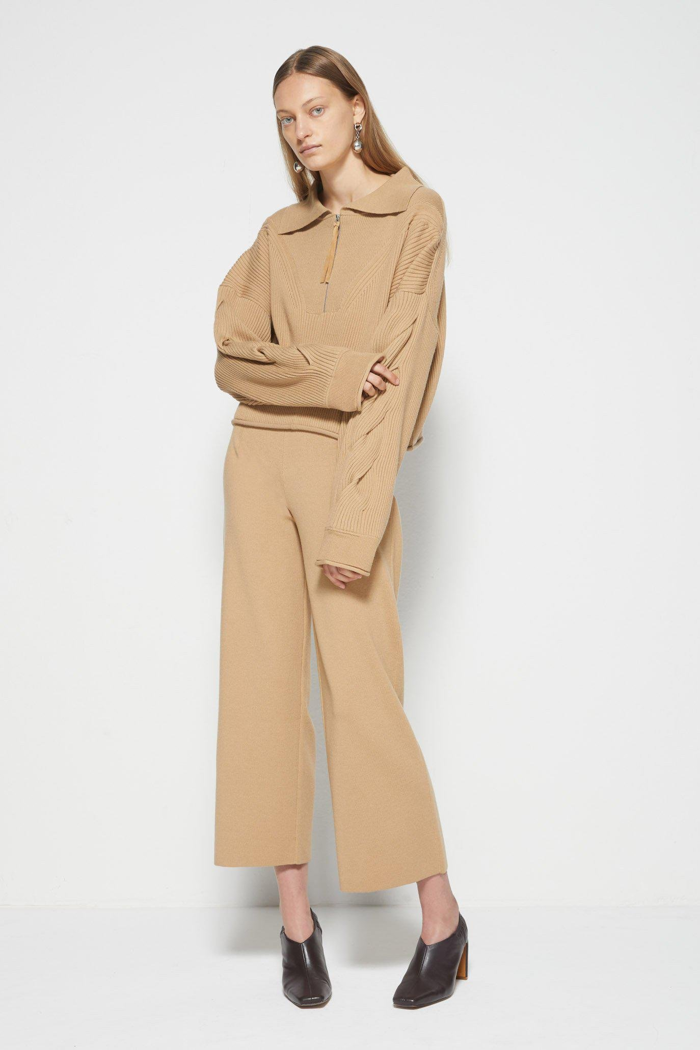 Lenore Twisted Cable Pant