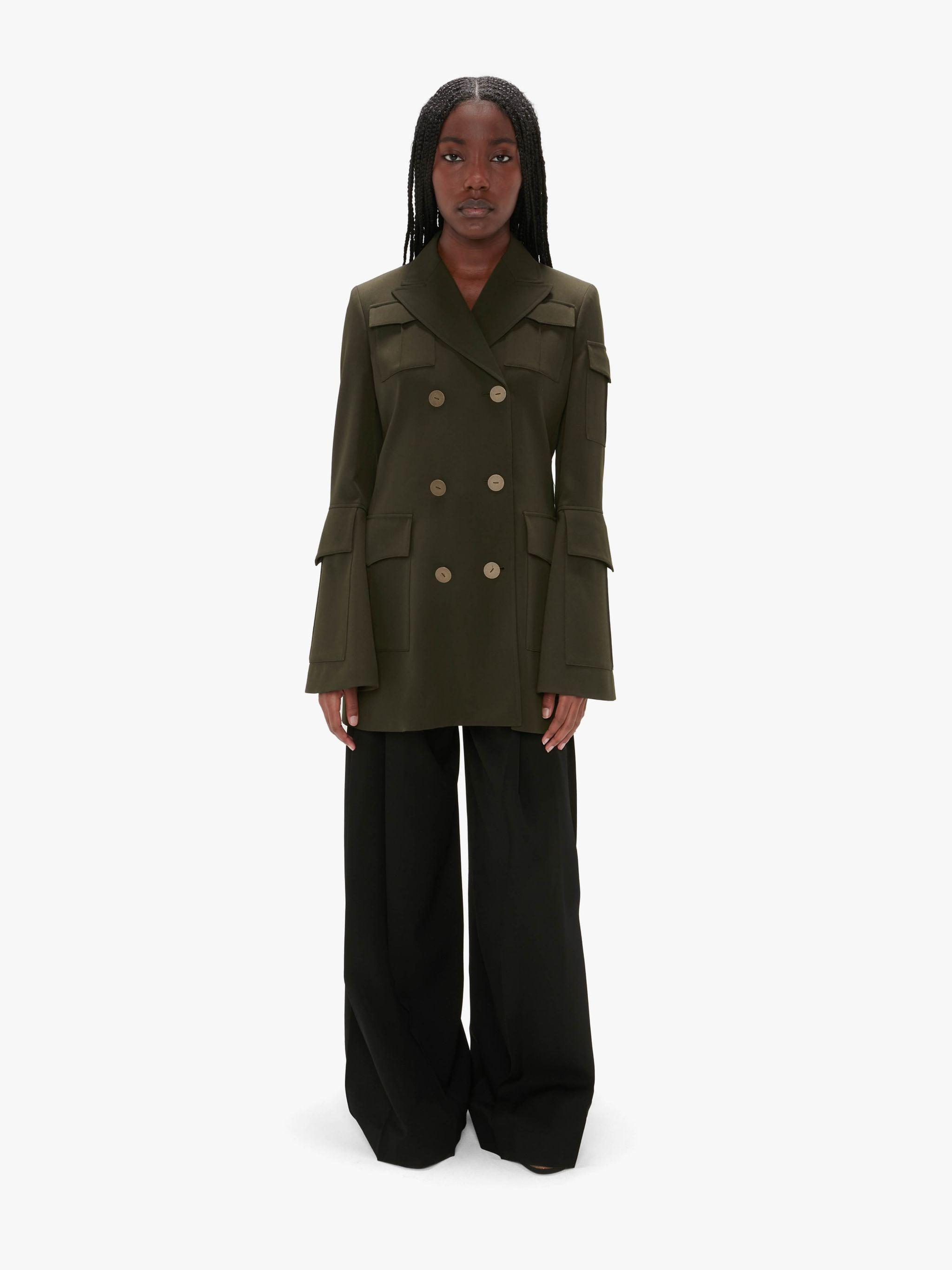 FITTED CARGO JACKET