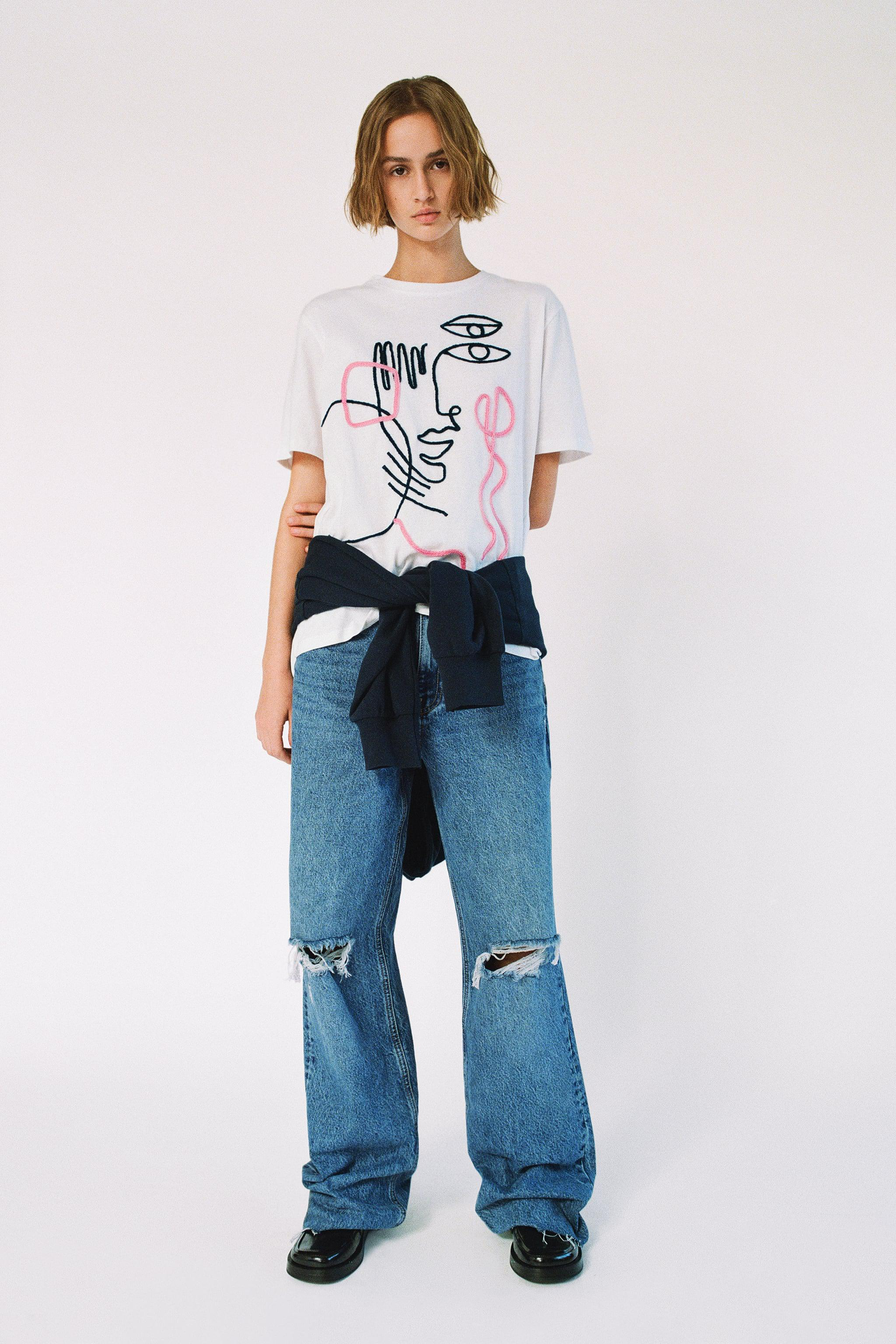 GIRL EMBROIDERED T-SHIRT