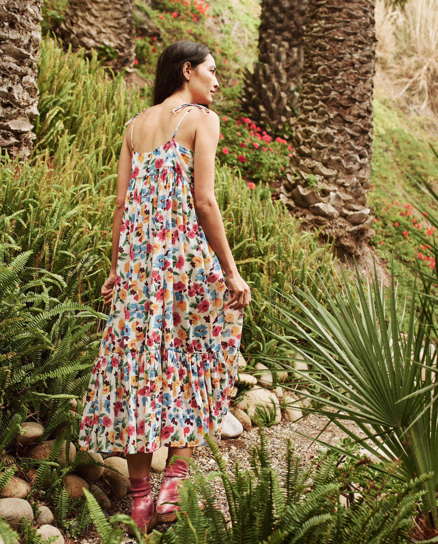 The Dainty Dress. -- Tropical Floral 3