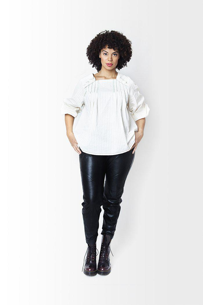 Sue Pleated Blouse