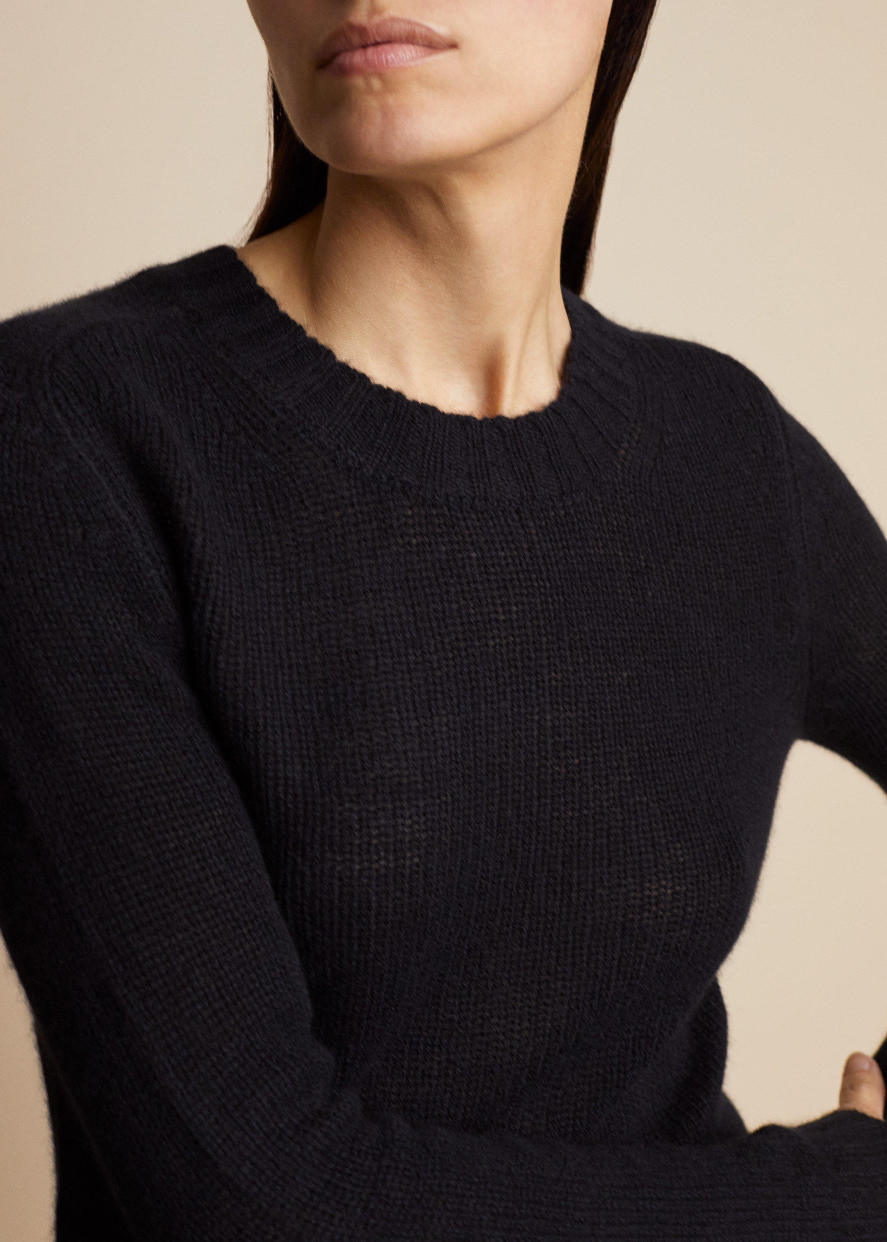 The Mary Jane Sweater in Black 3