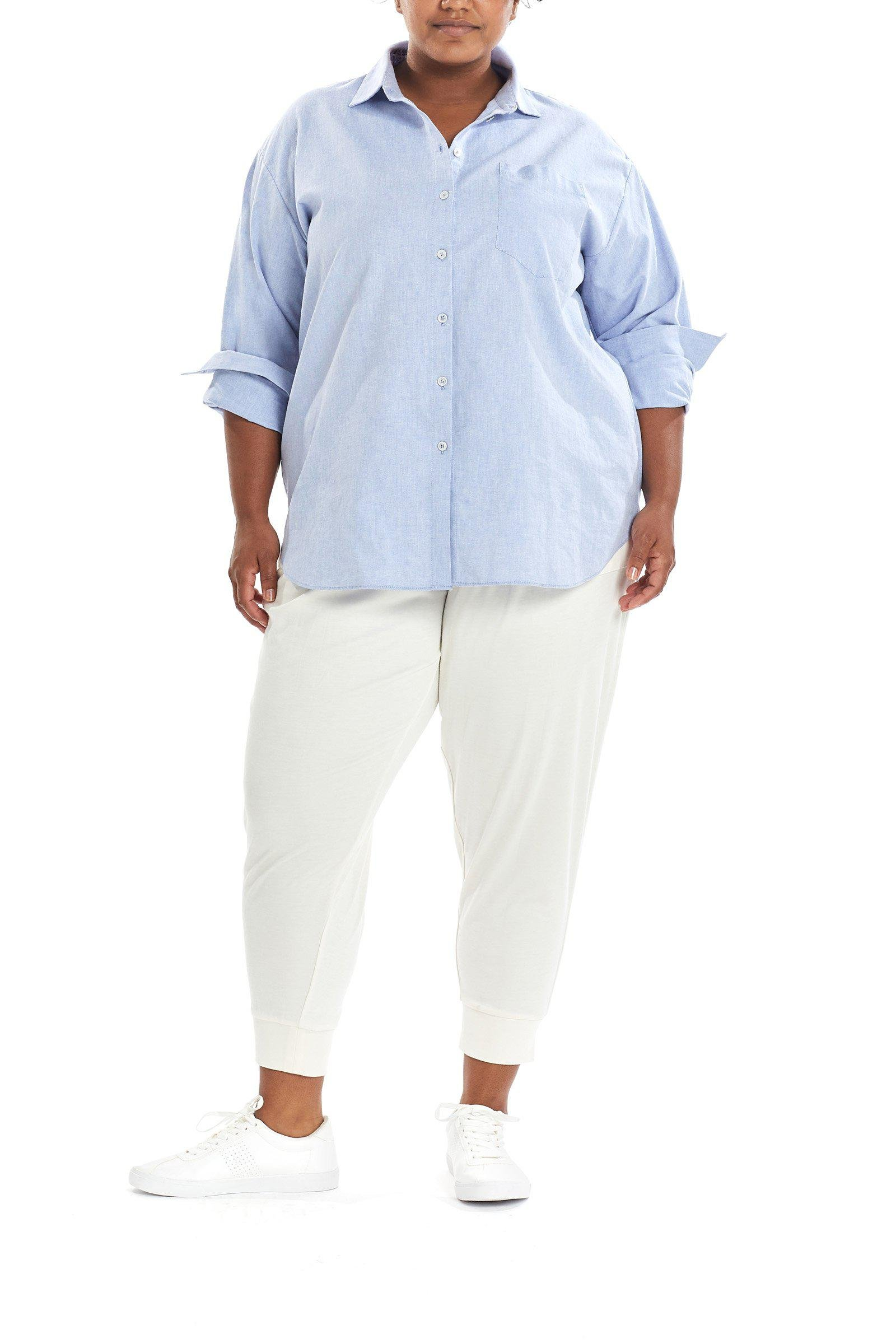 Oxford Shirt—French Blue