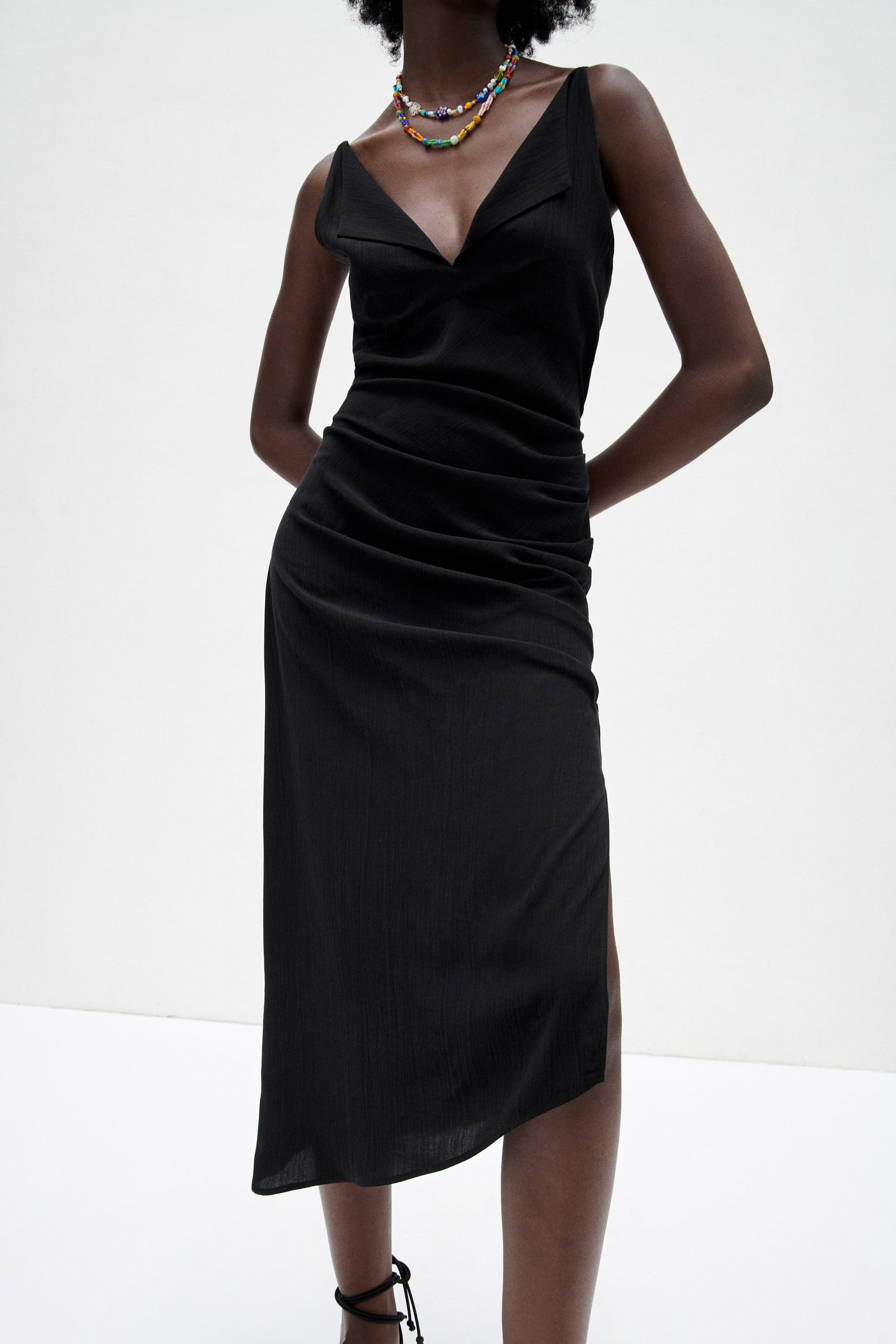 MIDI DRESS WITH OPEN BACK 1