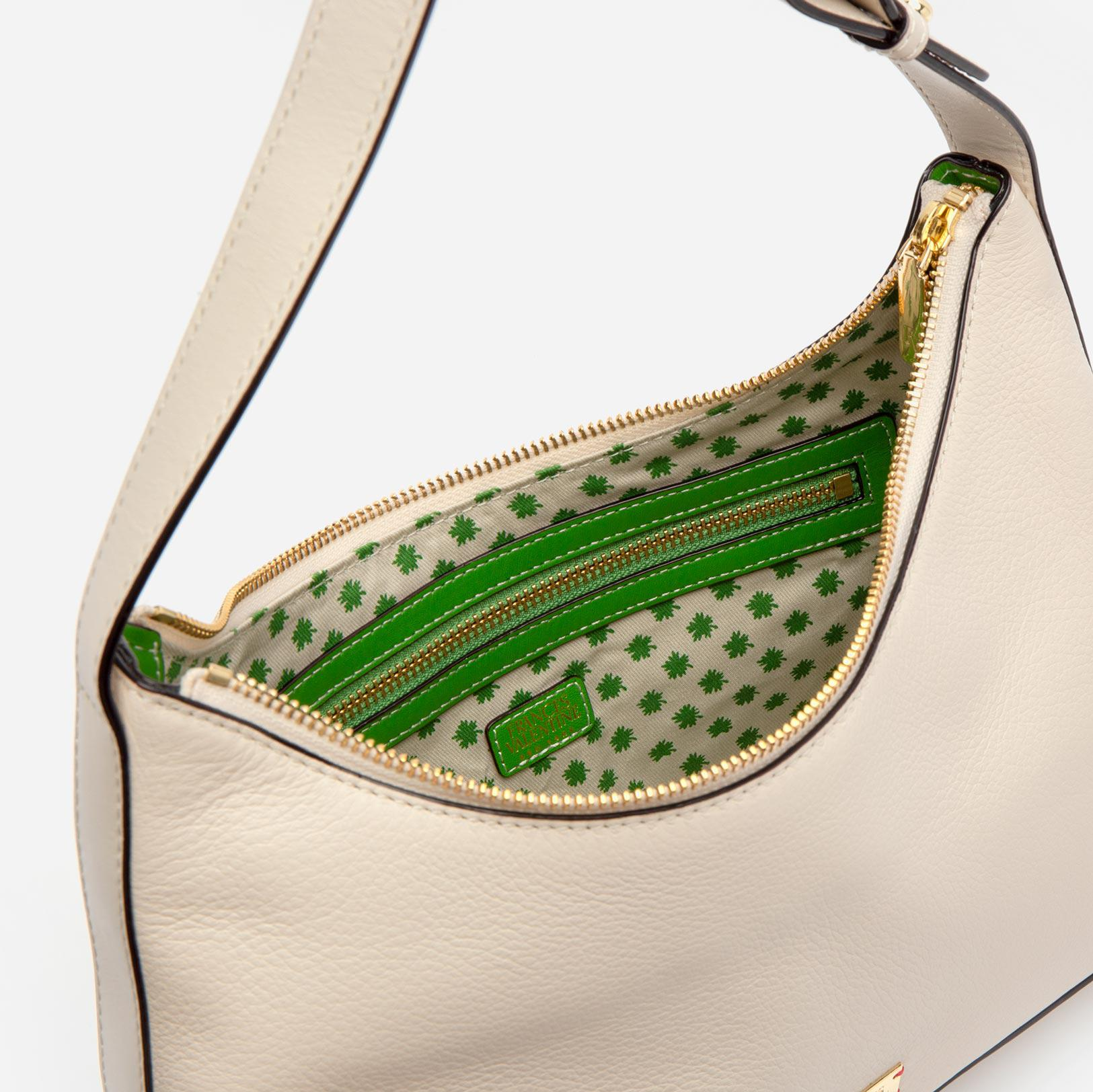 Laura Hobo Tumbled Leather Oyster 3