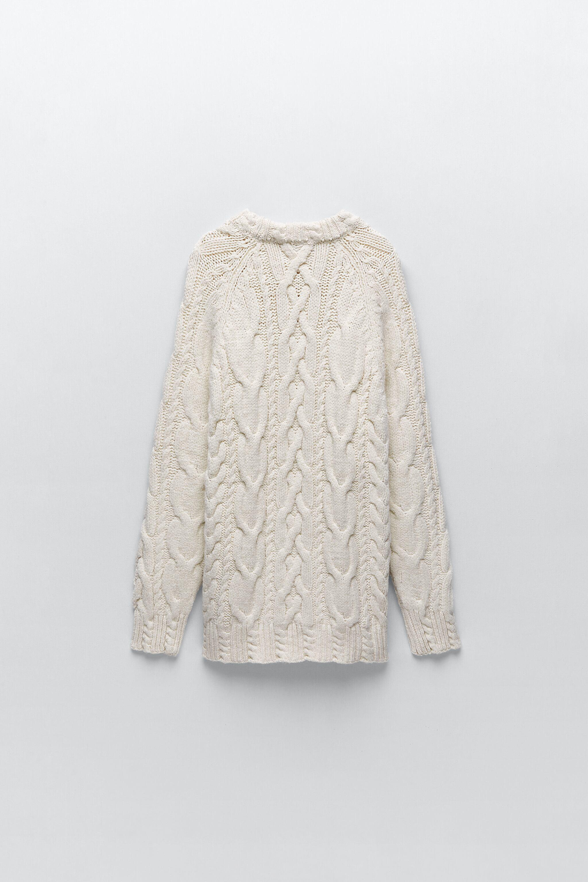 CABLE KNIT SWEATER 4