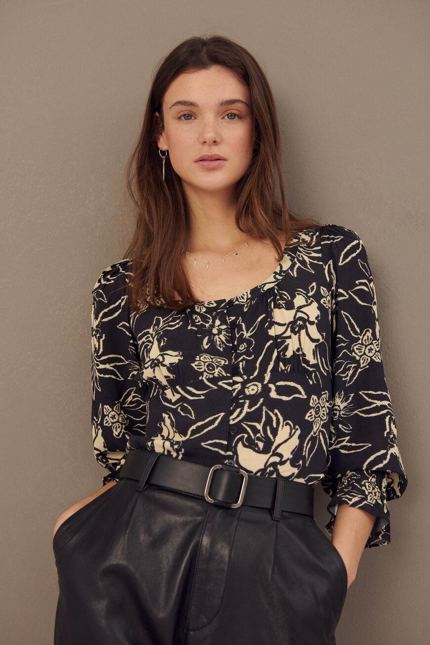sessee.FLORAL BLOUSE 2