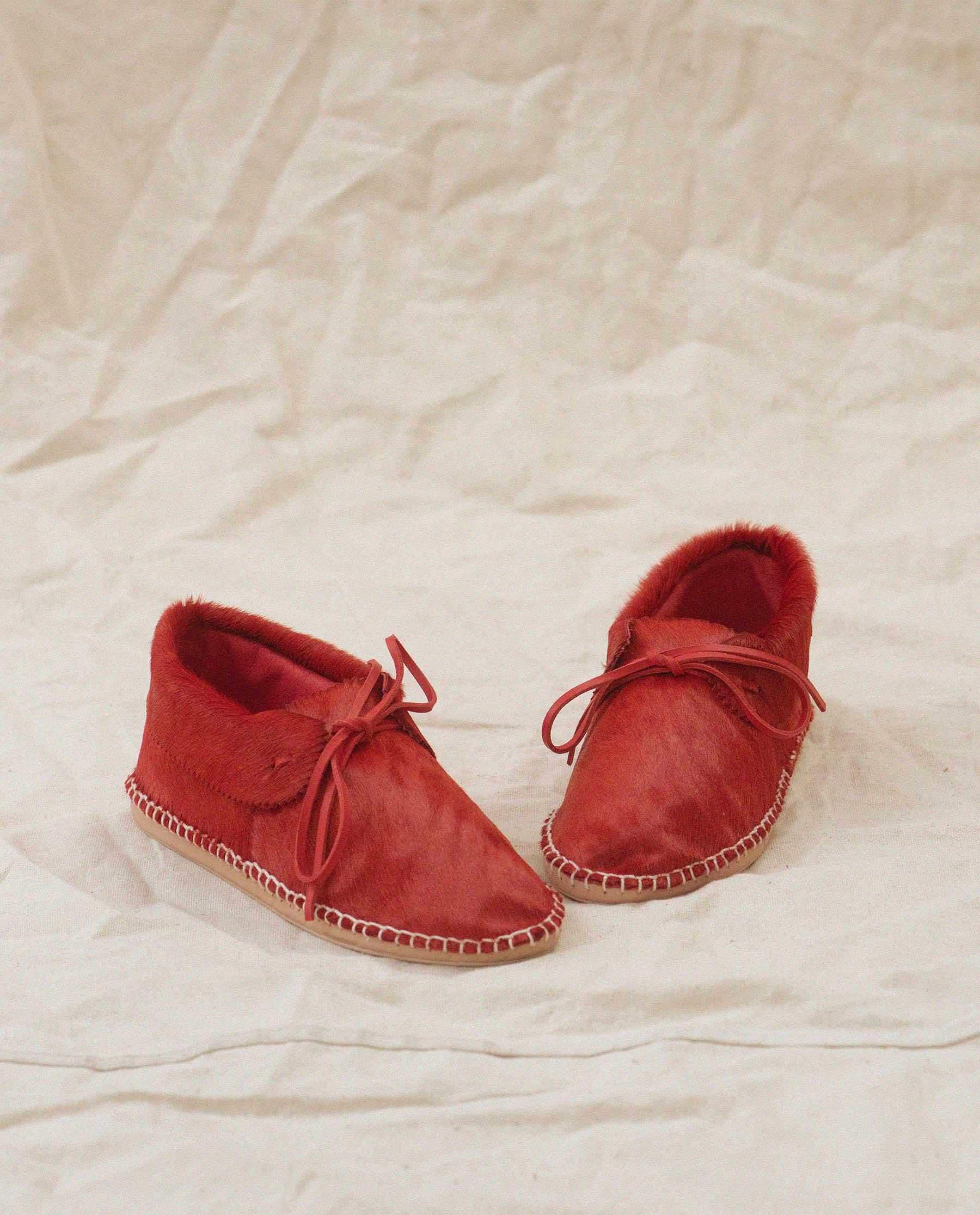 Exclusive The Canyon Moccasin. -- Red 2