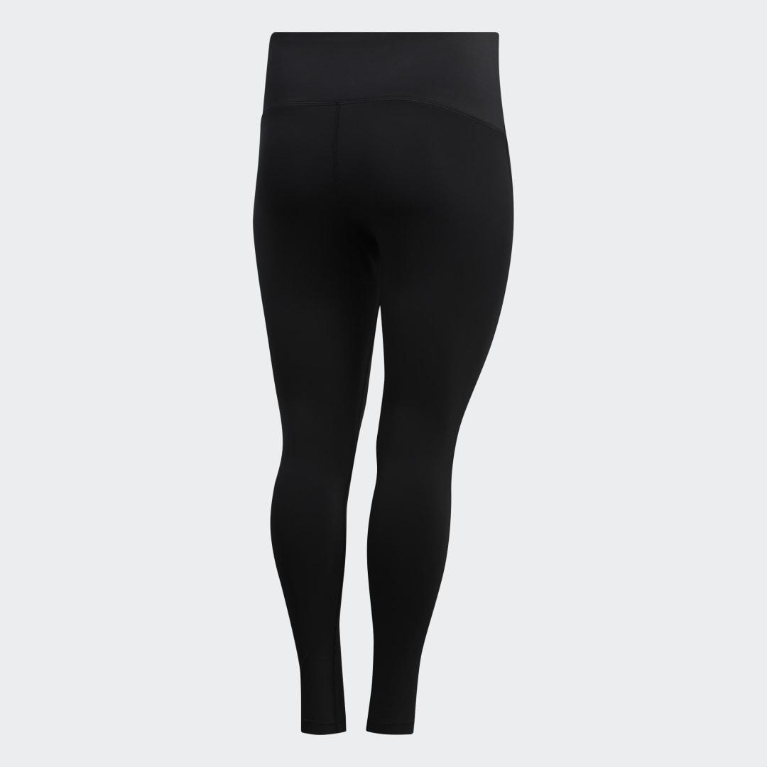 Believe This Solid 7/8 Tights (Plus Size) Black 6