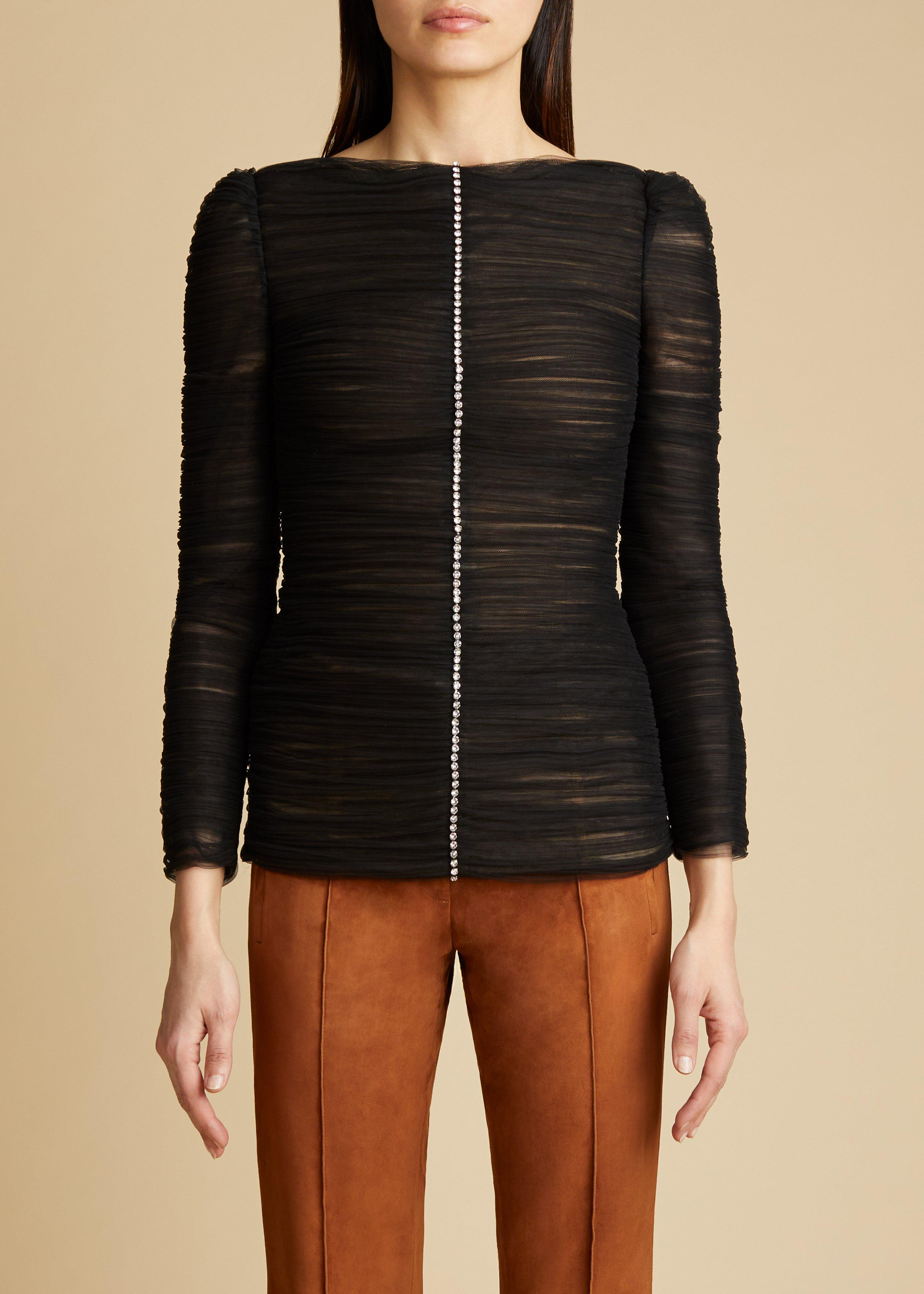 The Vienna Top in Black 0