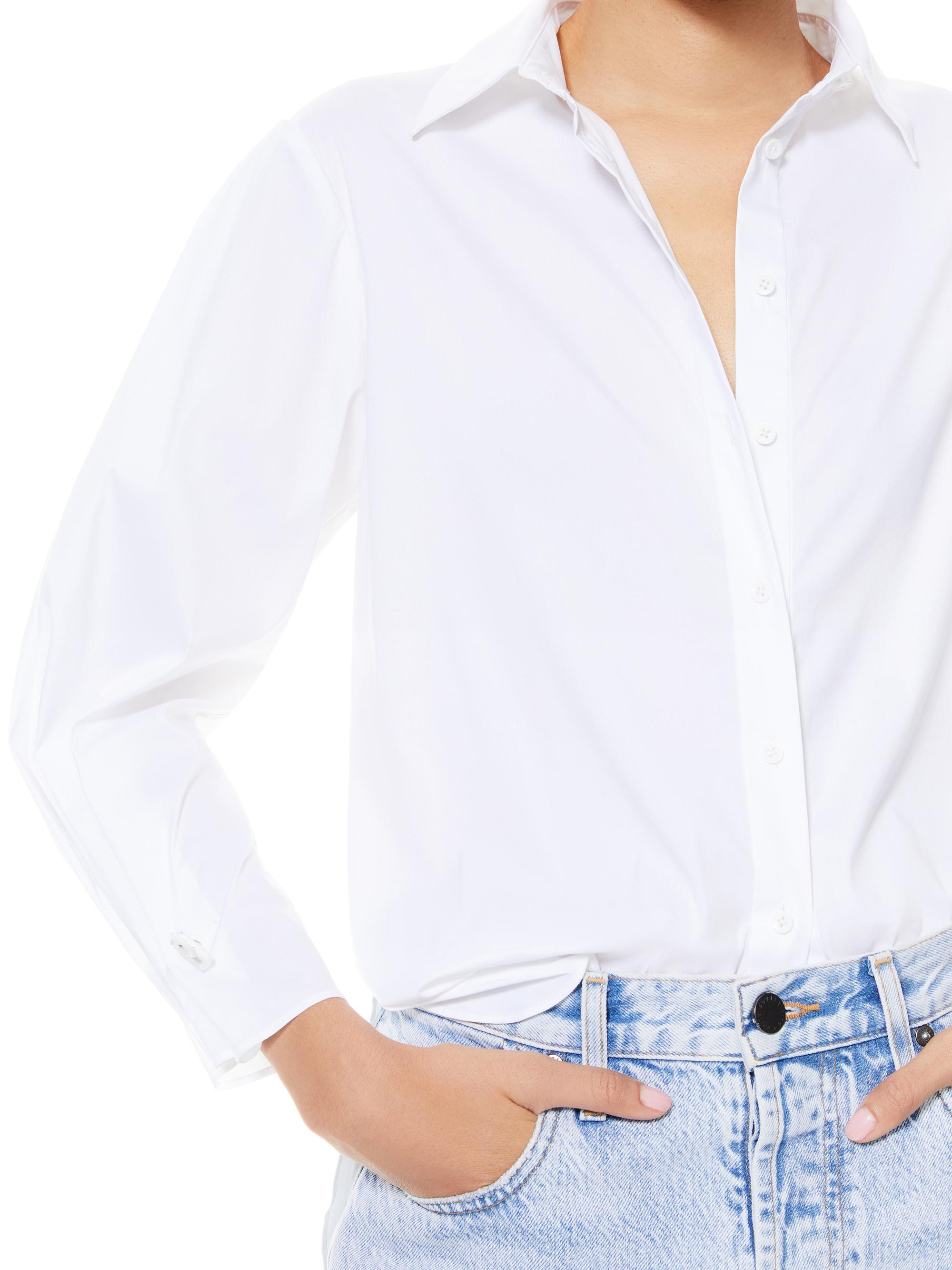 WES PLEATED SLEEVE BUTTON DOWN 4